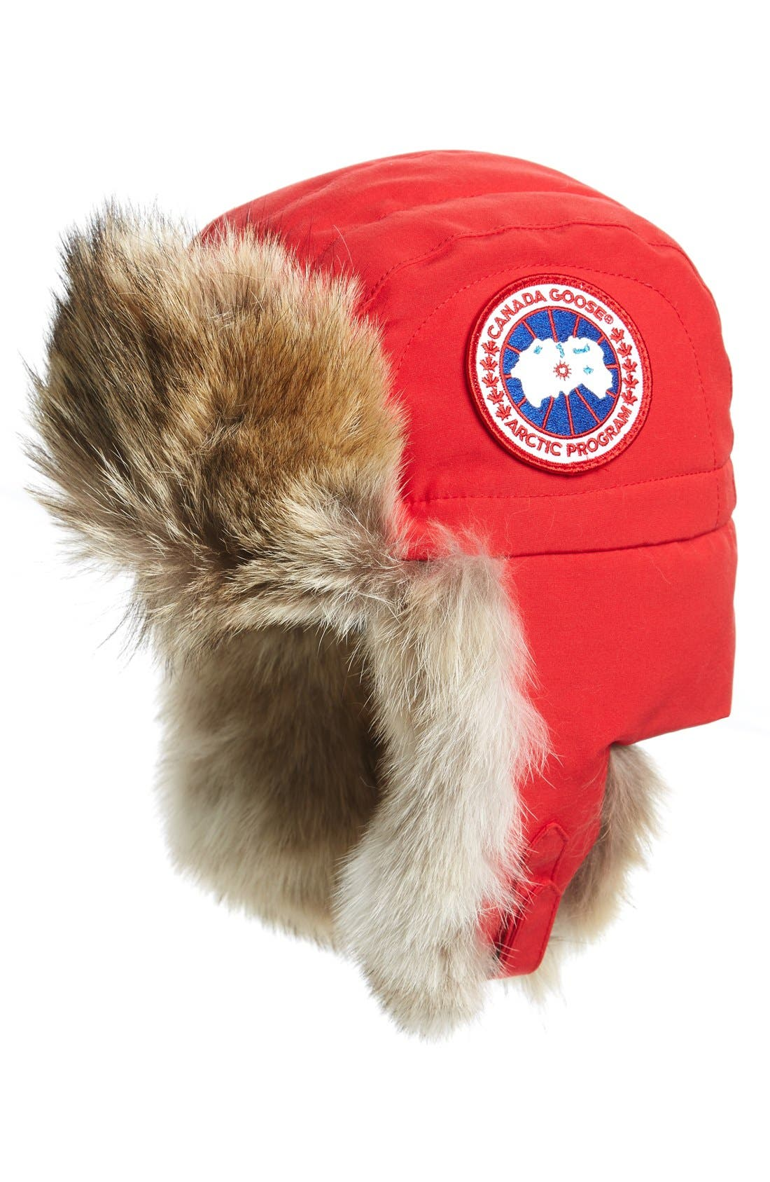 CANADA GOOSE Aviator Hat with Genuine Coyote Fur