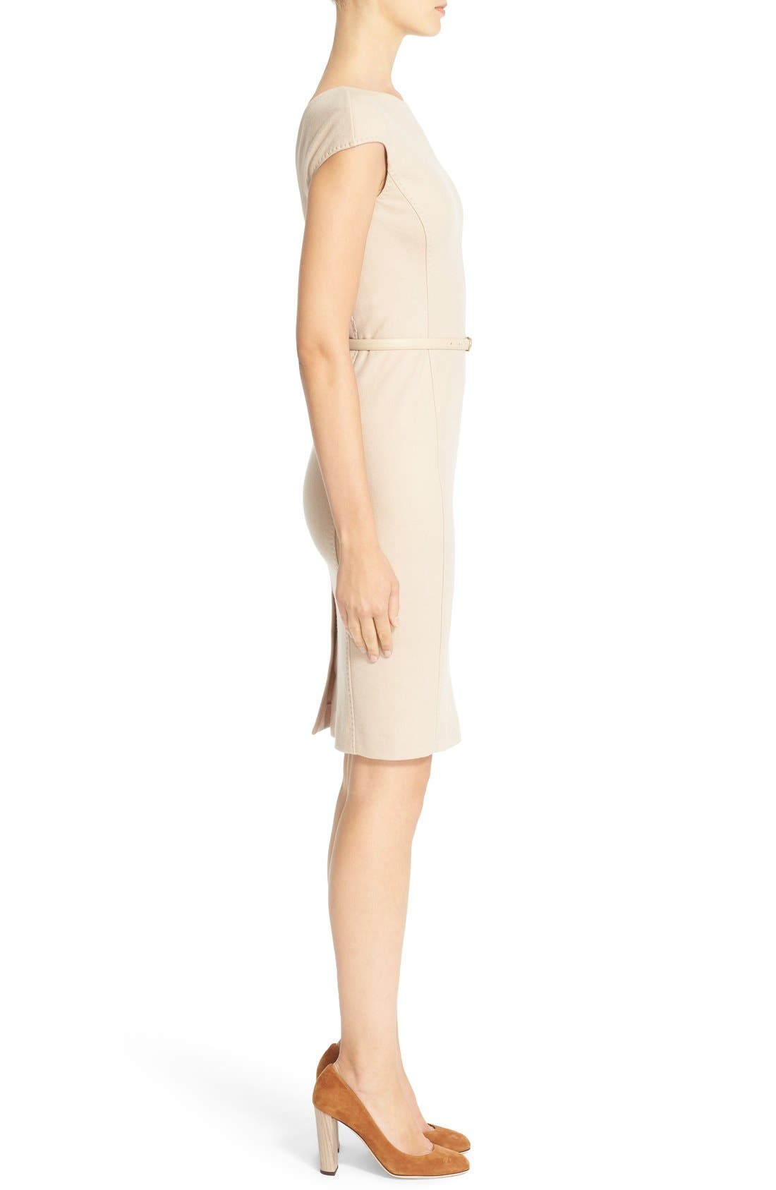 Alternate Image 5  - Max Mara 'Rabbino' Wool Jersey Sheath Dress