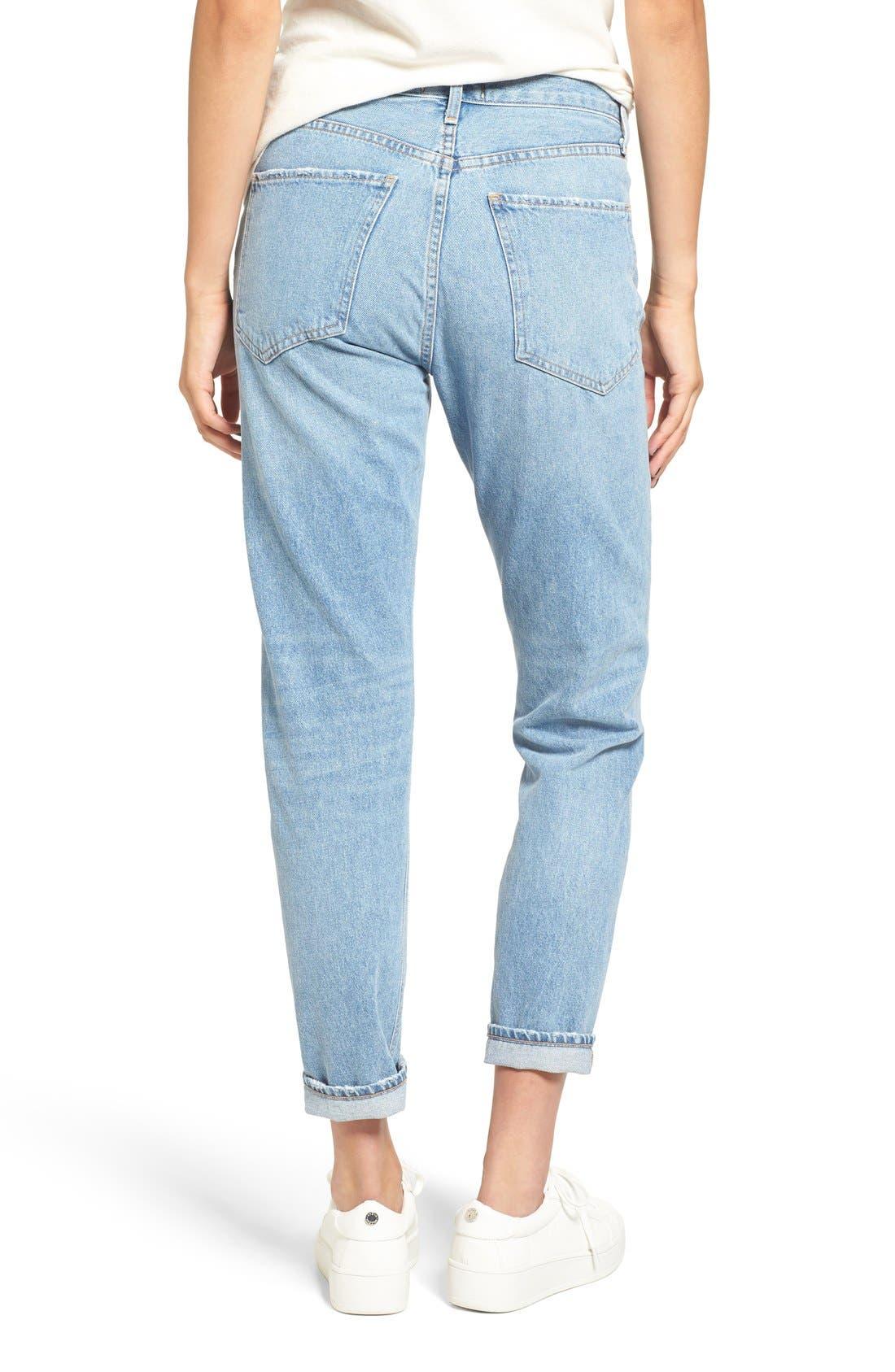 Alternate Image 4  - AGOLDE Jamie High Rise Classic Jeans (Women)