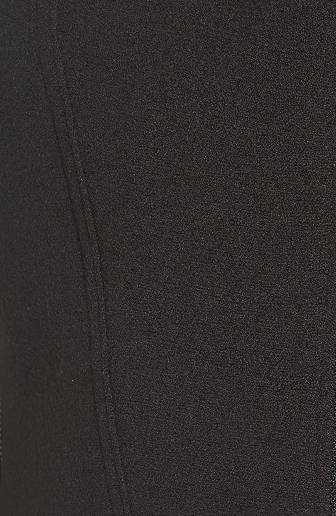 Alternate Image 5  - Catherine Catherine Malandrino Knit Moto Jacket