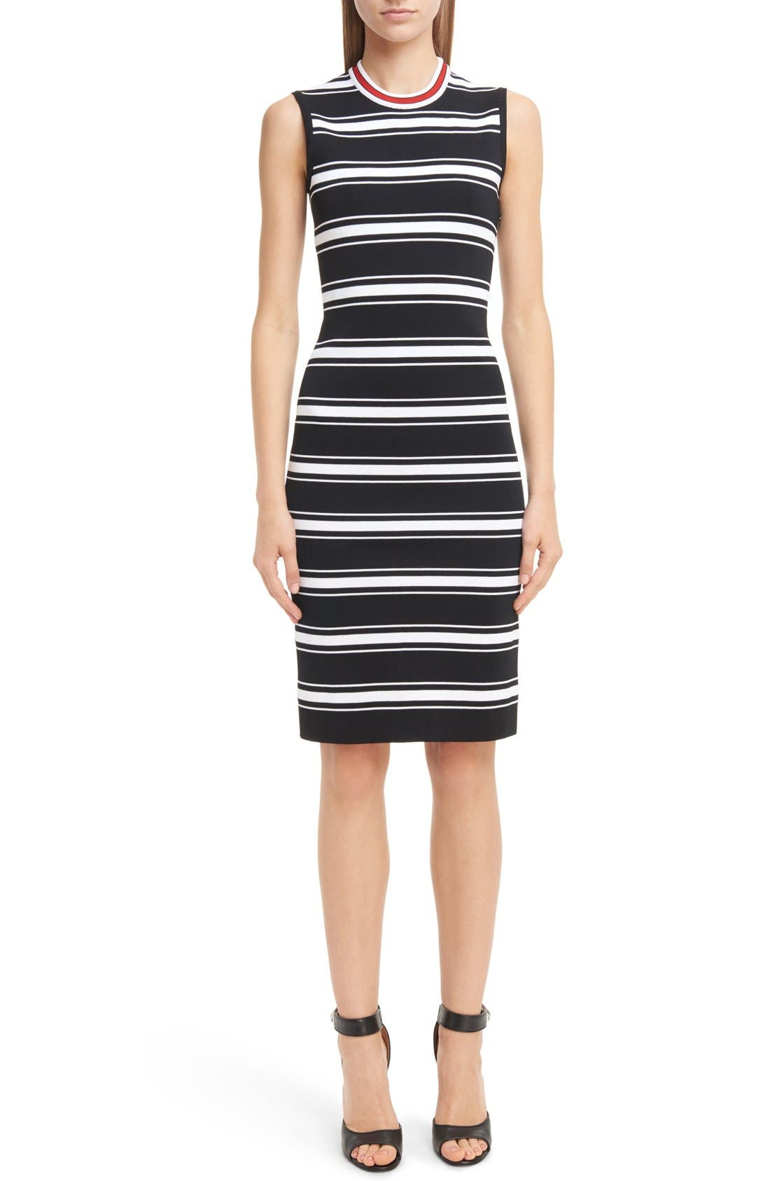 GIVENCHY Stripe Knit Dress