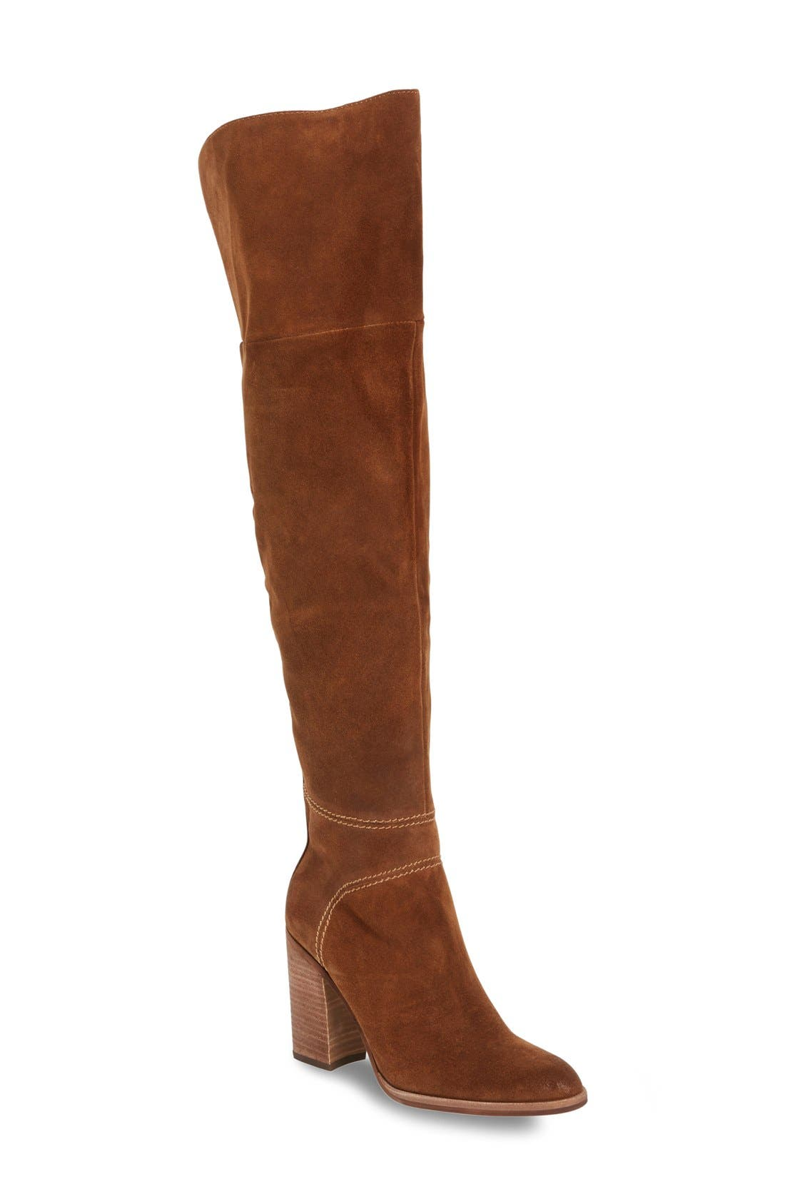 Main Image - Dolce Vita 'Cash' Over the Knee Boot (Women)
