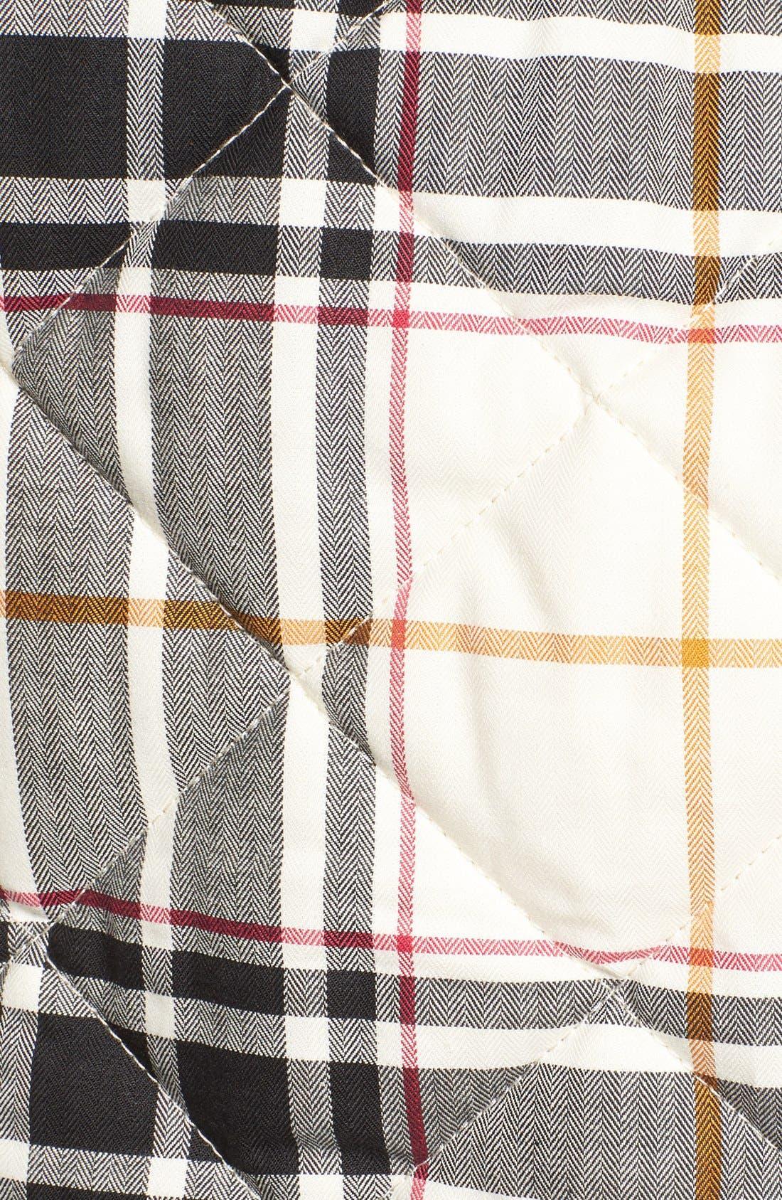 Alternate Image 5  - Foxcroft Plaid Quilt Vest
