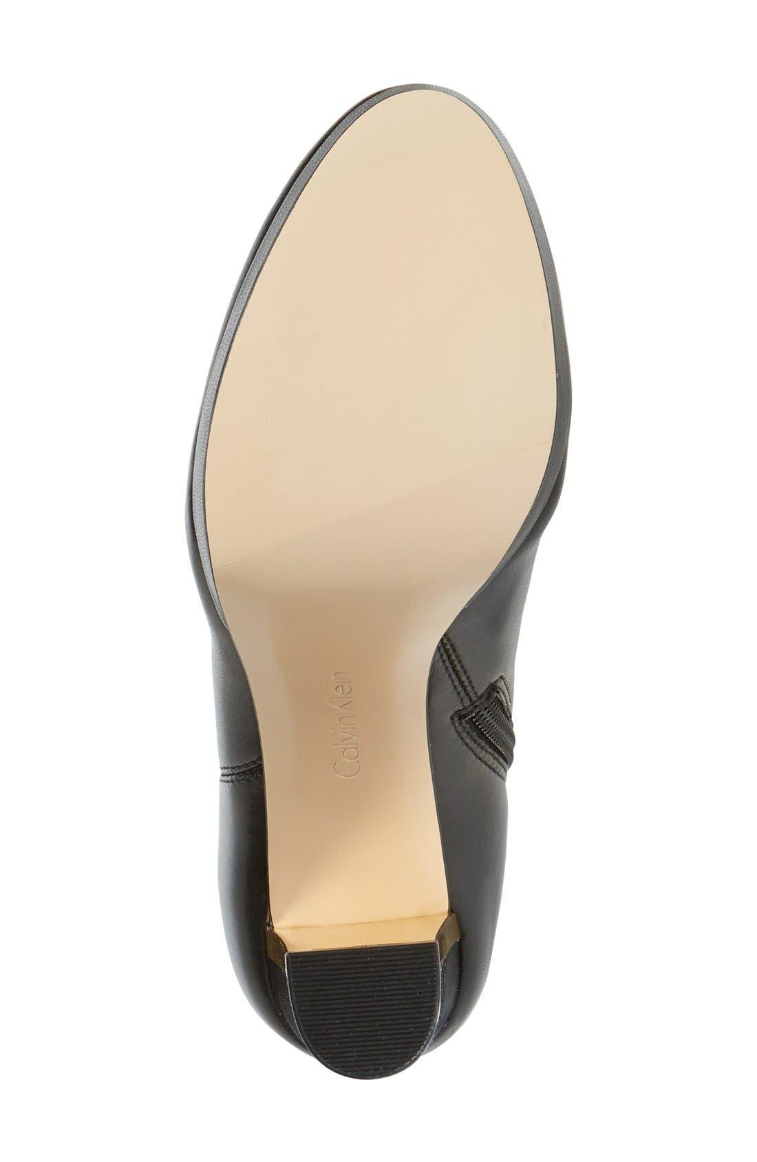 Alternate Image 4  - Calvin Klein 'Polomia' Platform Over the Knee Boot (Women)