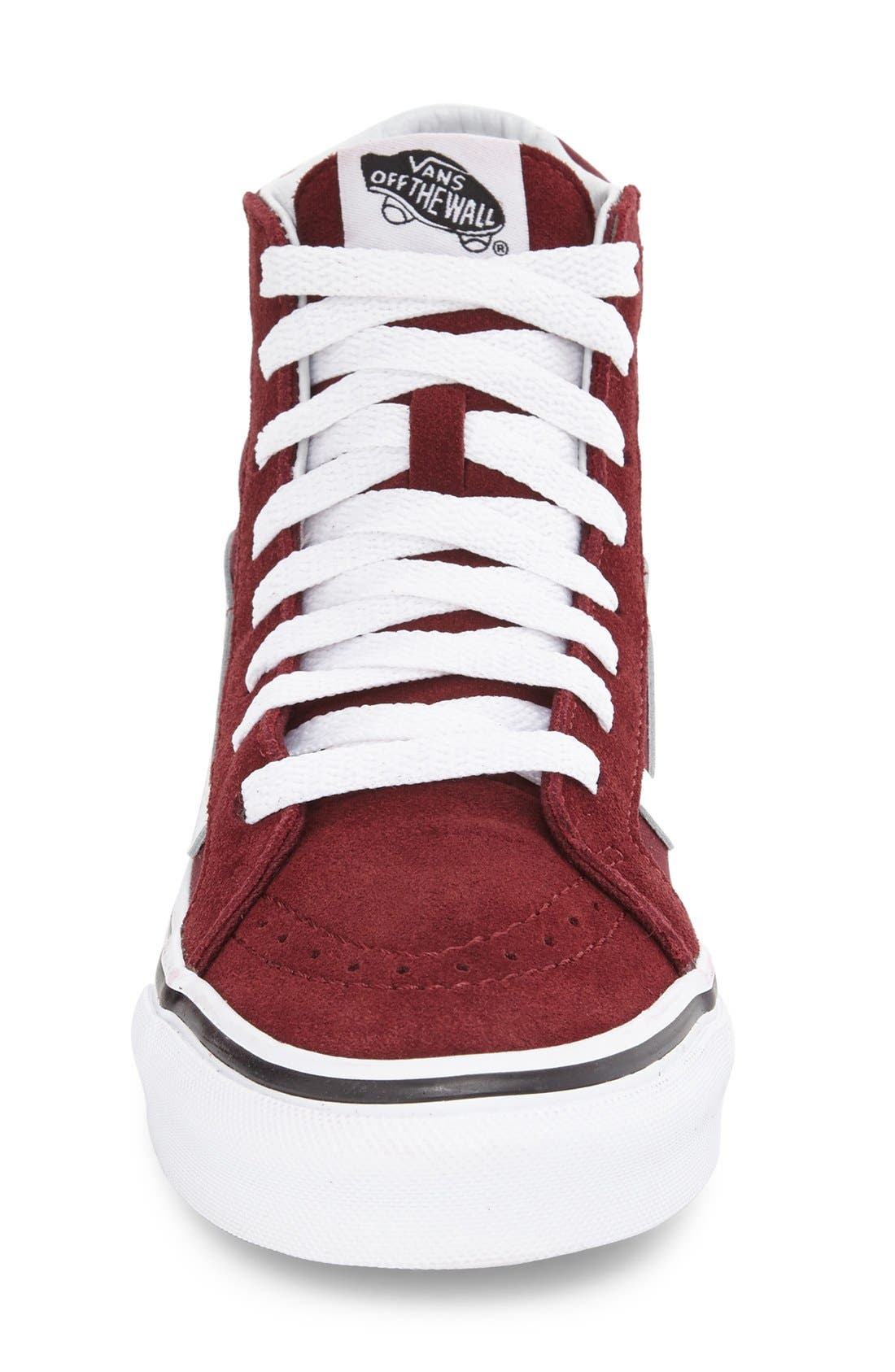 Alternate Image 3  - Vans Sk8-Hi Slim High Top Sneaker (Women)