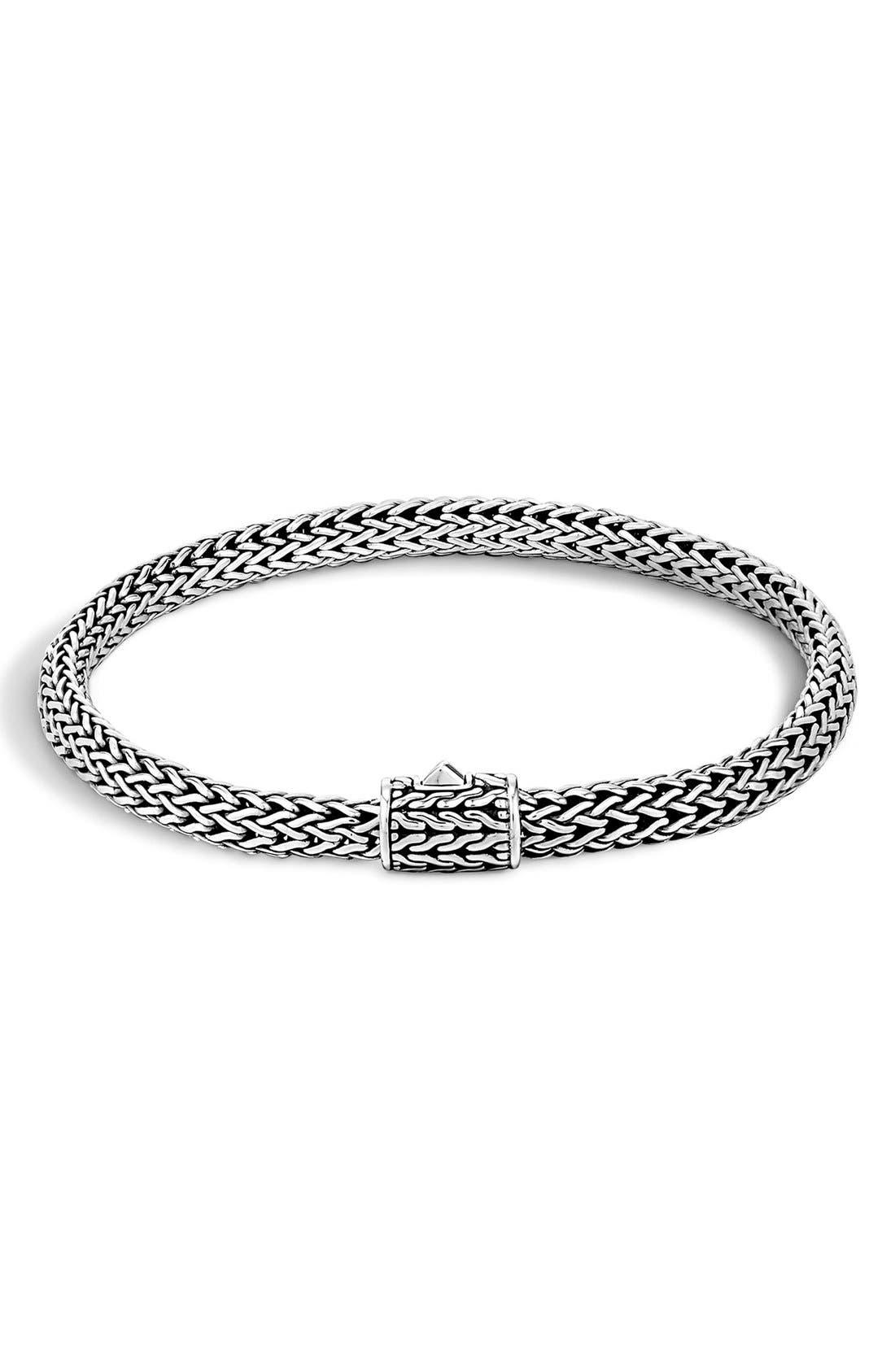 Alternate Image 1 Selected - John Hardy 'Bedeg' Slim Chain Bracelet