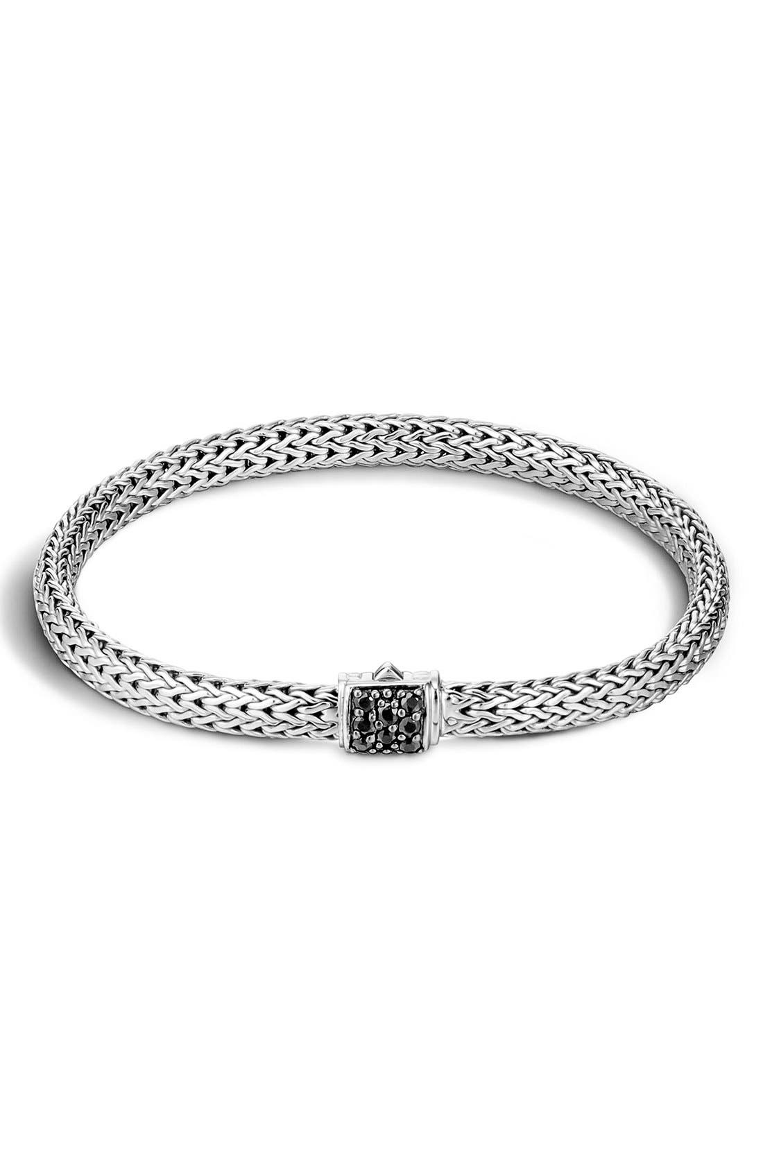 Alternate Image 1 Selected - John Hardy 'Classic Chain' Extra Small Bracelet
