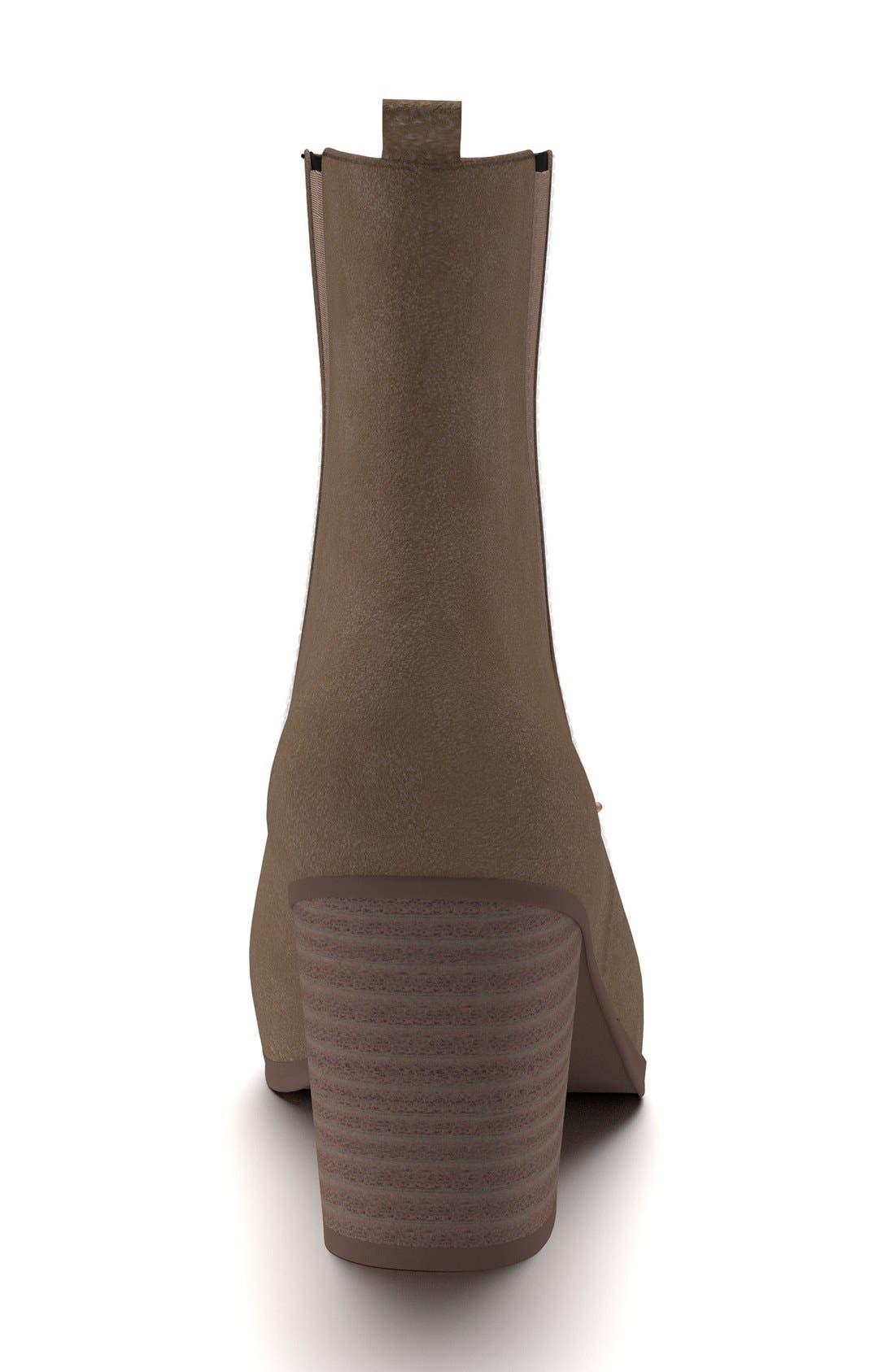 Alternate Image 4  - Shoes of Prey Block Heel Chelsea Boot (Women)