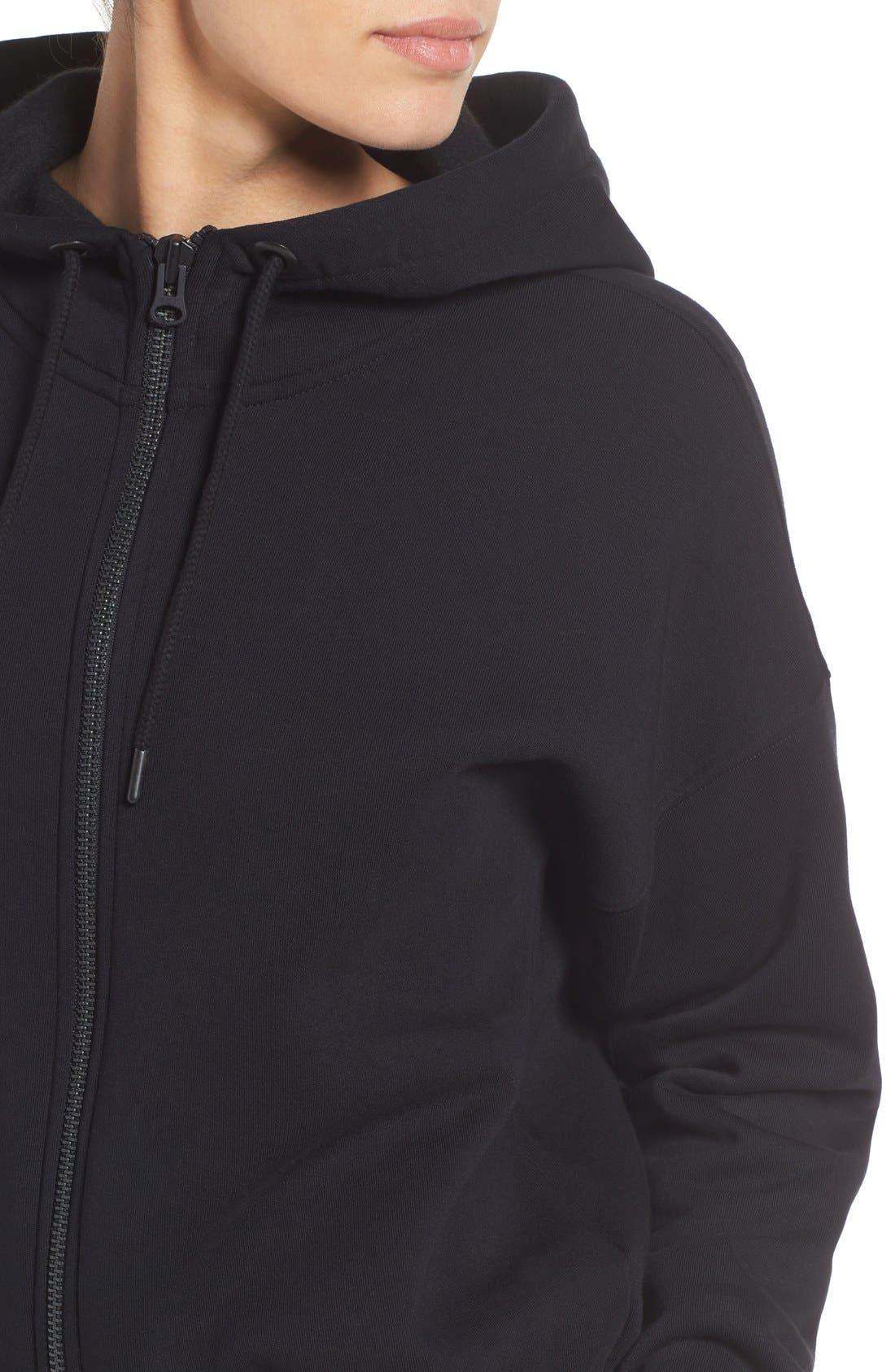 Alternate Image 4  - IVY PARK® Chenille Logo Fleece Jumpsuit