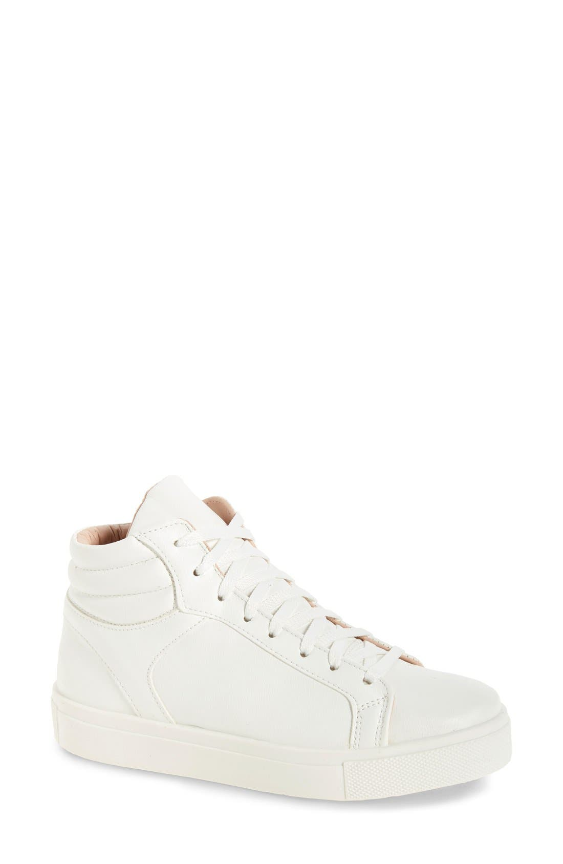 Topshop Cinger High Top Sneaker (Women)