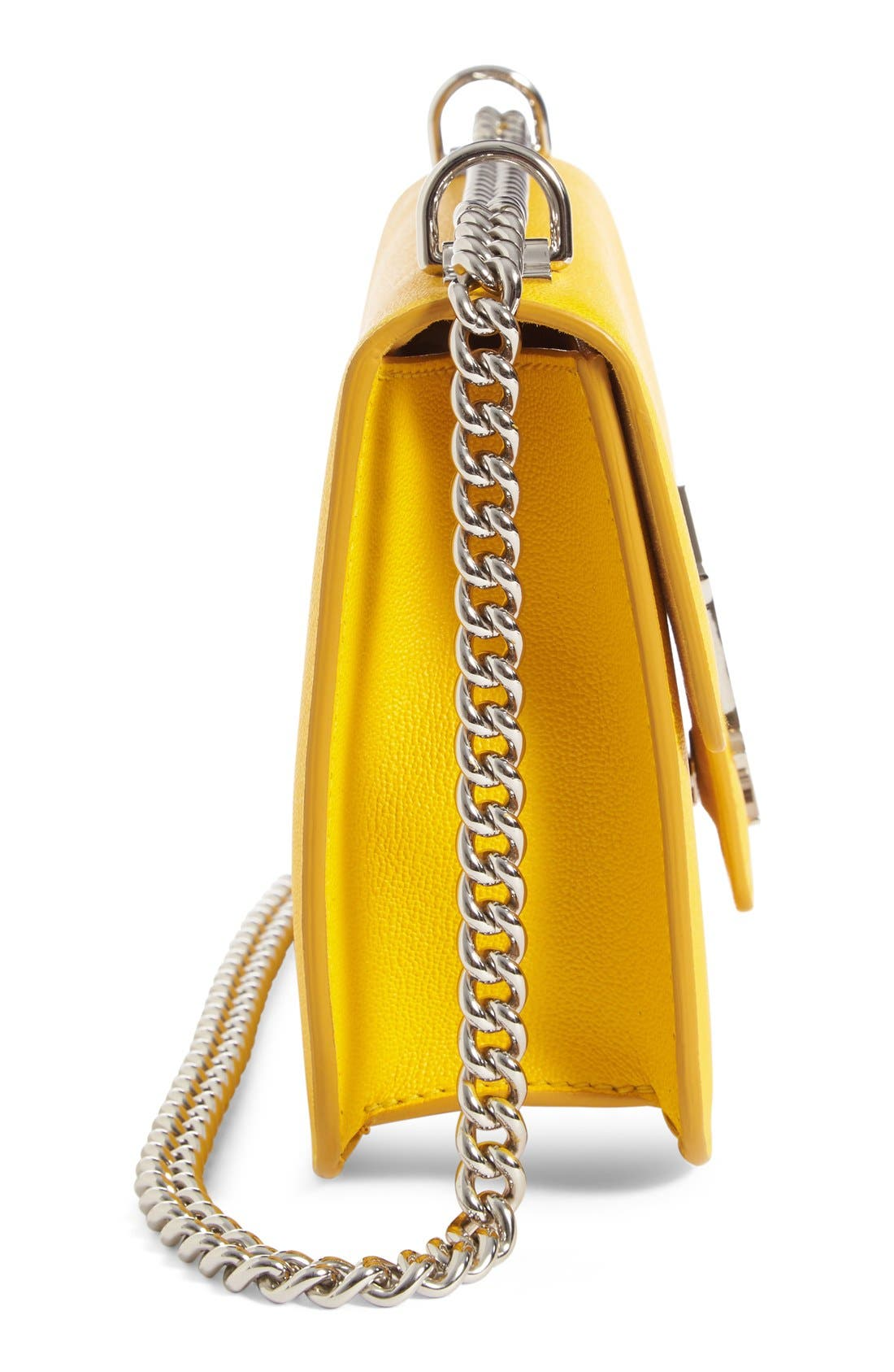 Alternate Image 5  - Alexander McQueen 'Medium Insignia Chain' Calfskin Leather Satchel