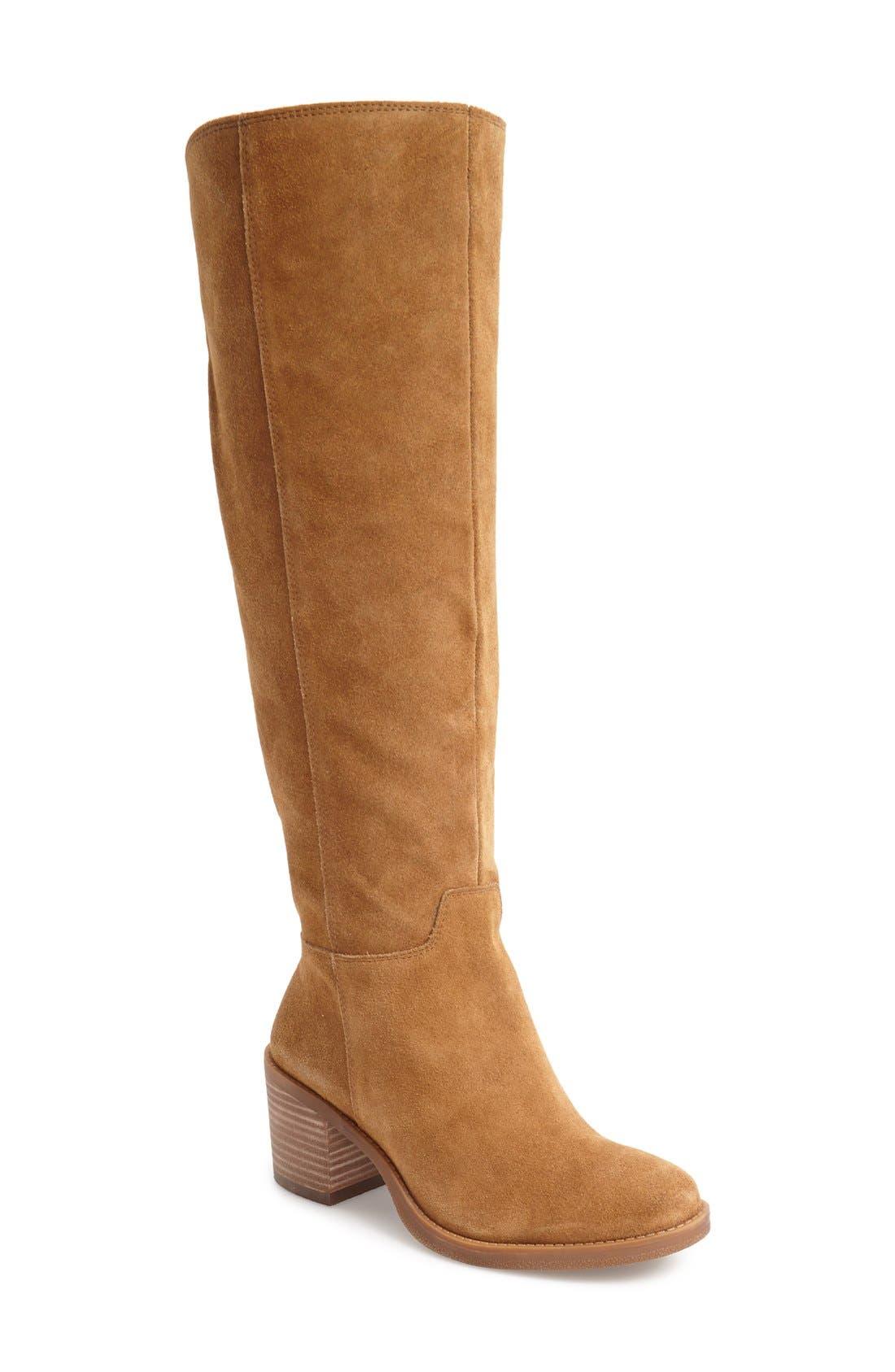 Alternate Image 1 Selected - Lucky Brand Ritten Tall Boot (Women)