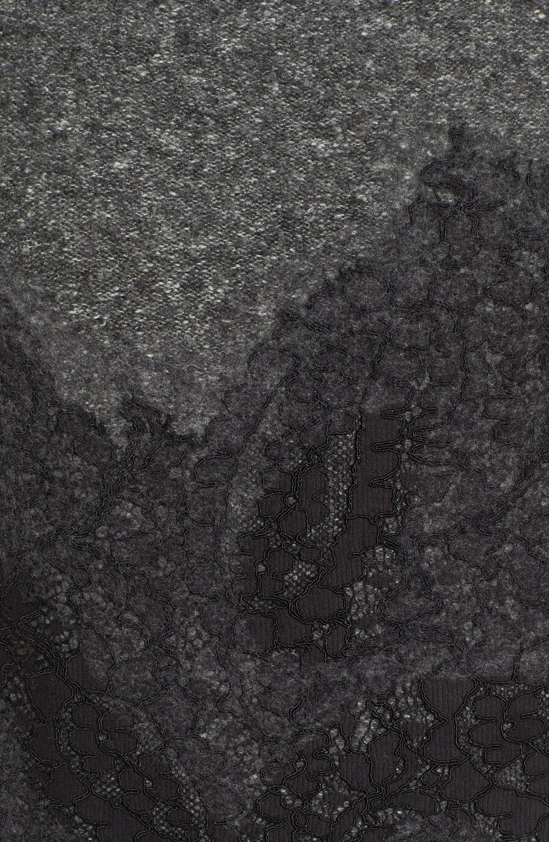 Alternate Image 5  - MICHAEL Michael Kors Needle Punched Lace Sweater Dress