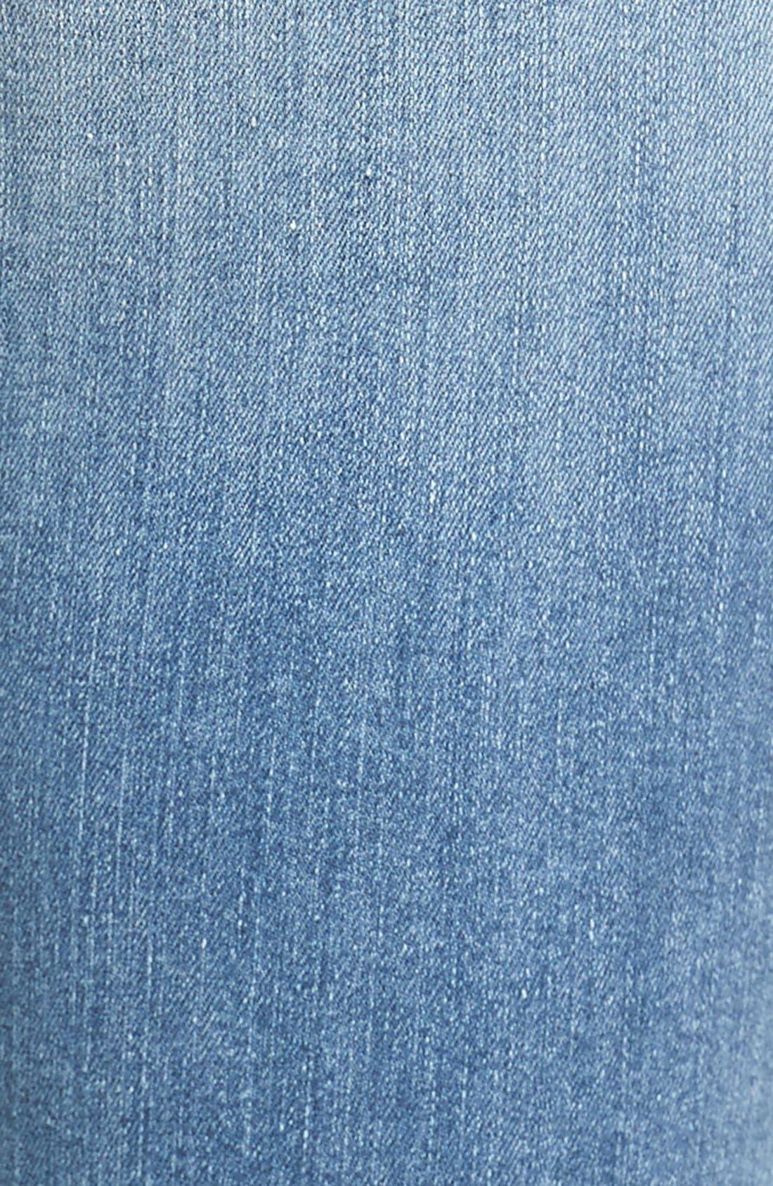 Alternate Image 8  - Good American Good Legs High Rise Raw Step Hem Skinny Jeans