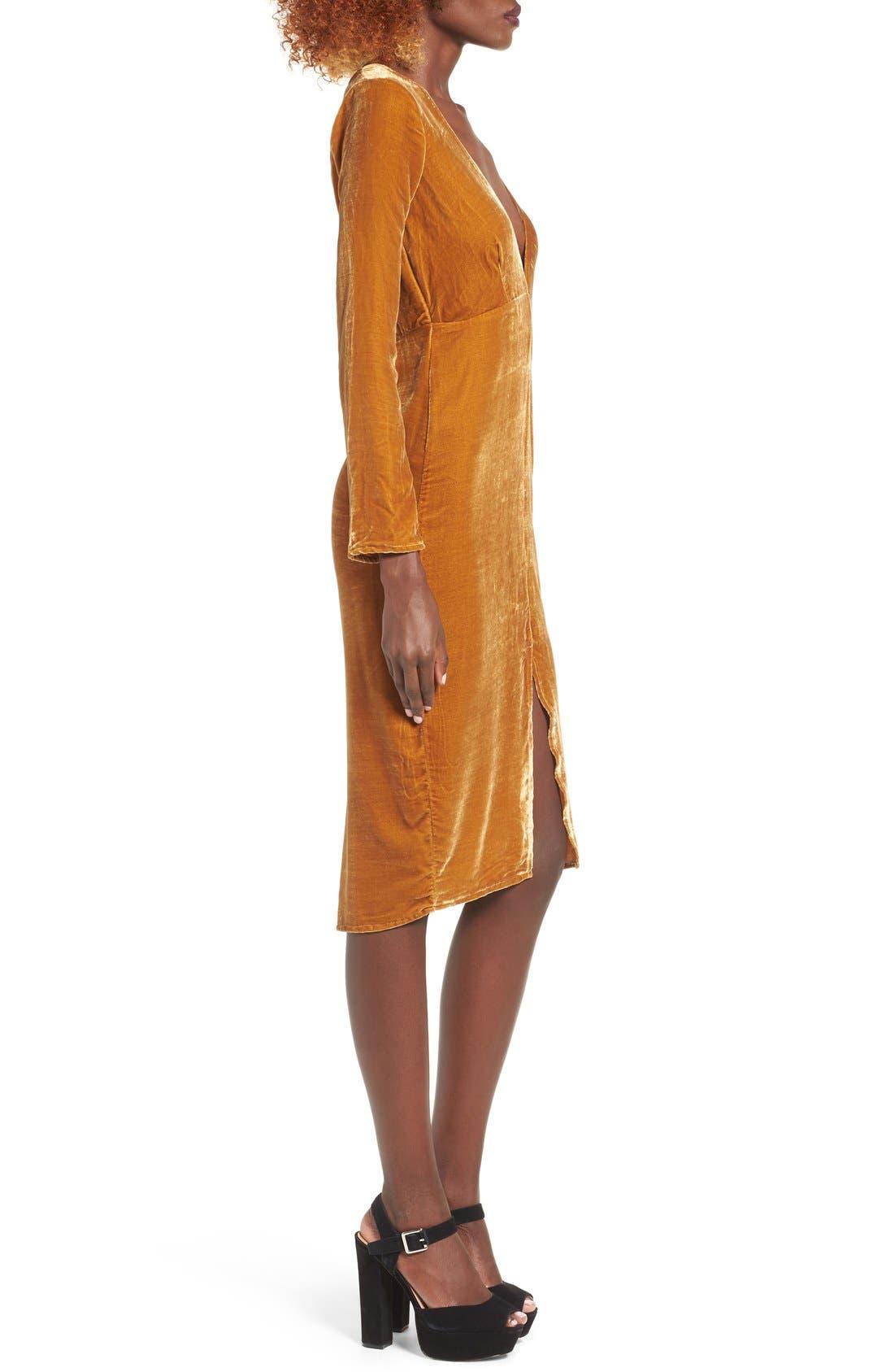 Alternate Image 3  - For Love & Lemons Collette Midi Dress