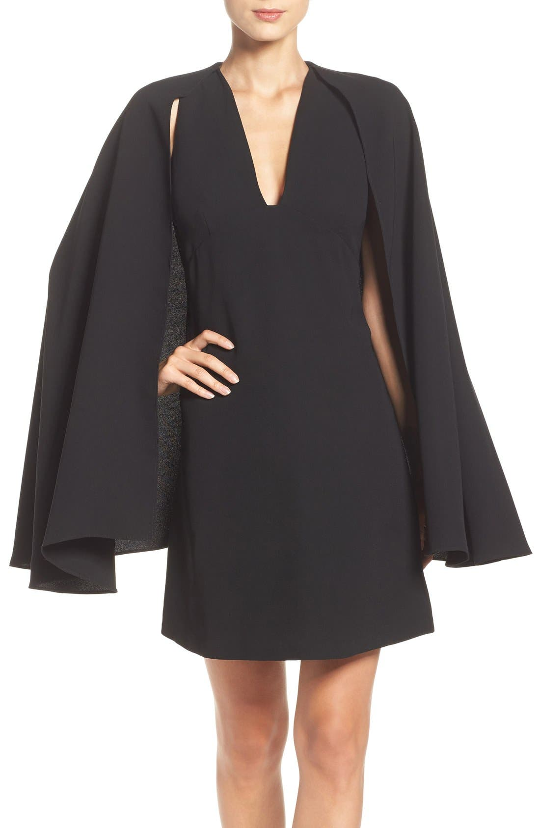 Alternate Image 1 Selected - Olivia Palermo + Chelsea28 Cape Dress