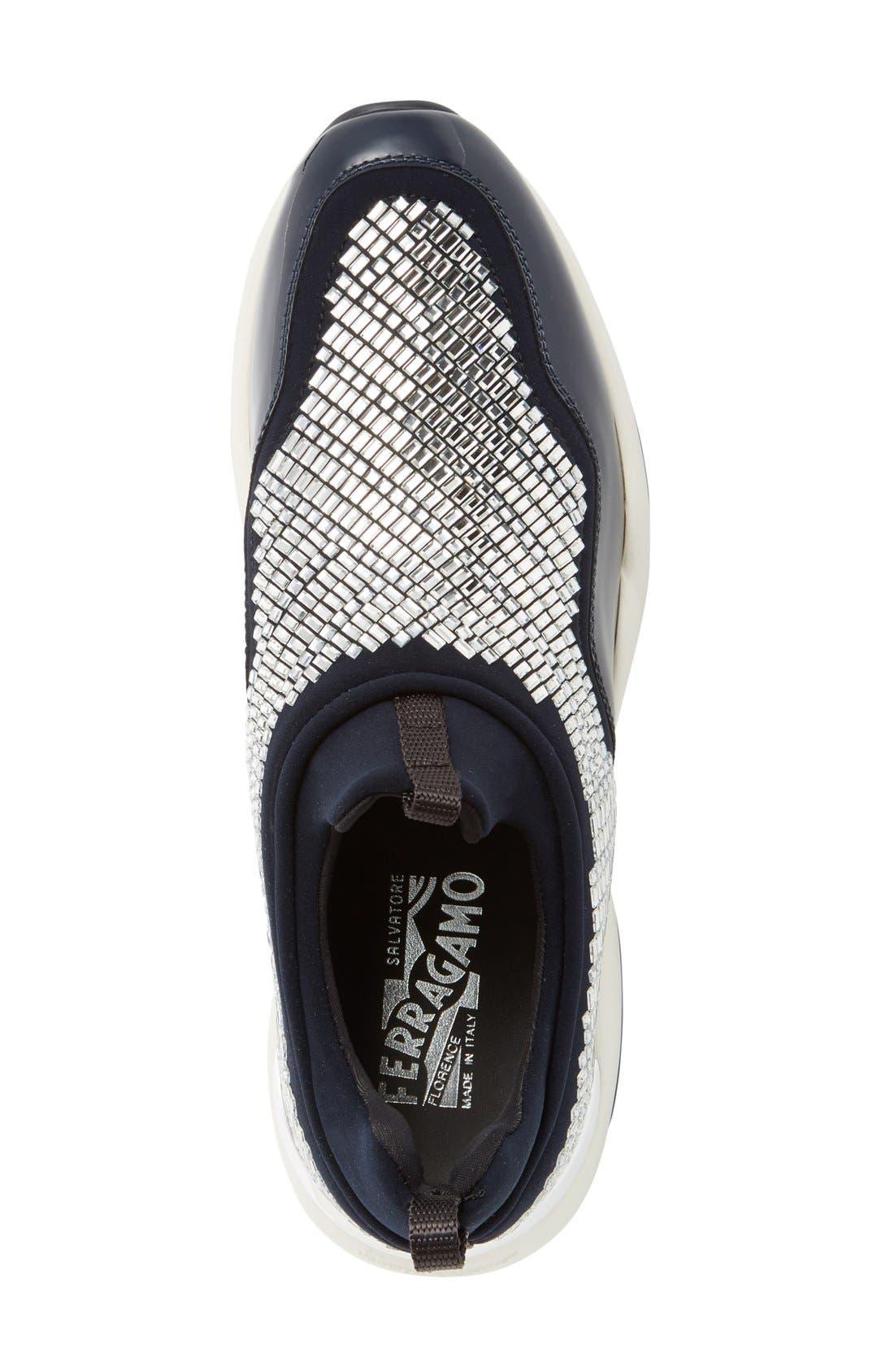 Alternate Image 3  - Salvatore Ferragmo Giolly Slip-On Sneaker (Women)