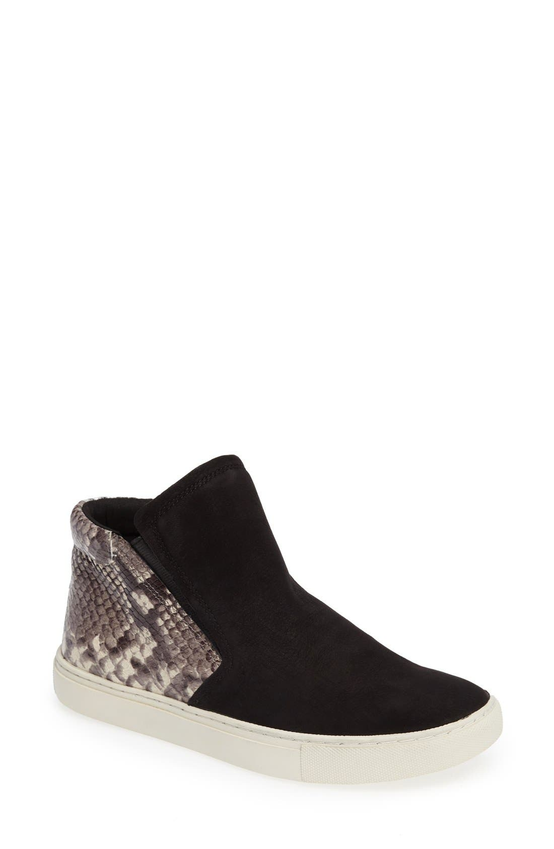 Kenneth Cole New York Kalvin Python Embossed Mid Top Sneaker (Women)
