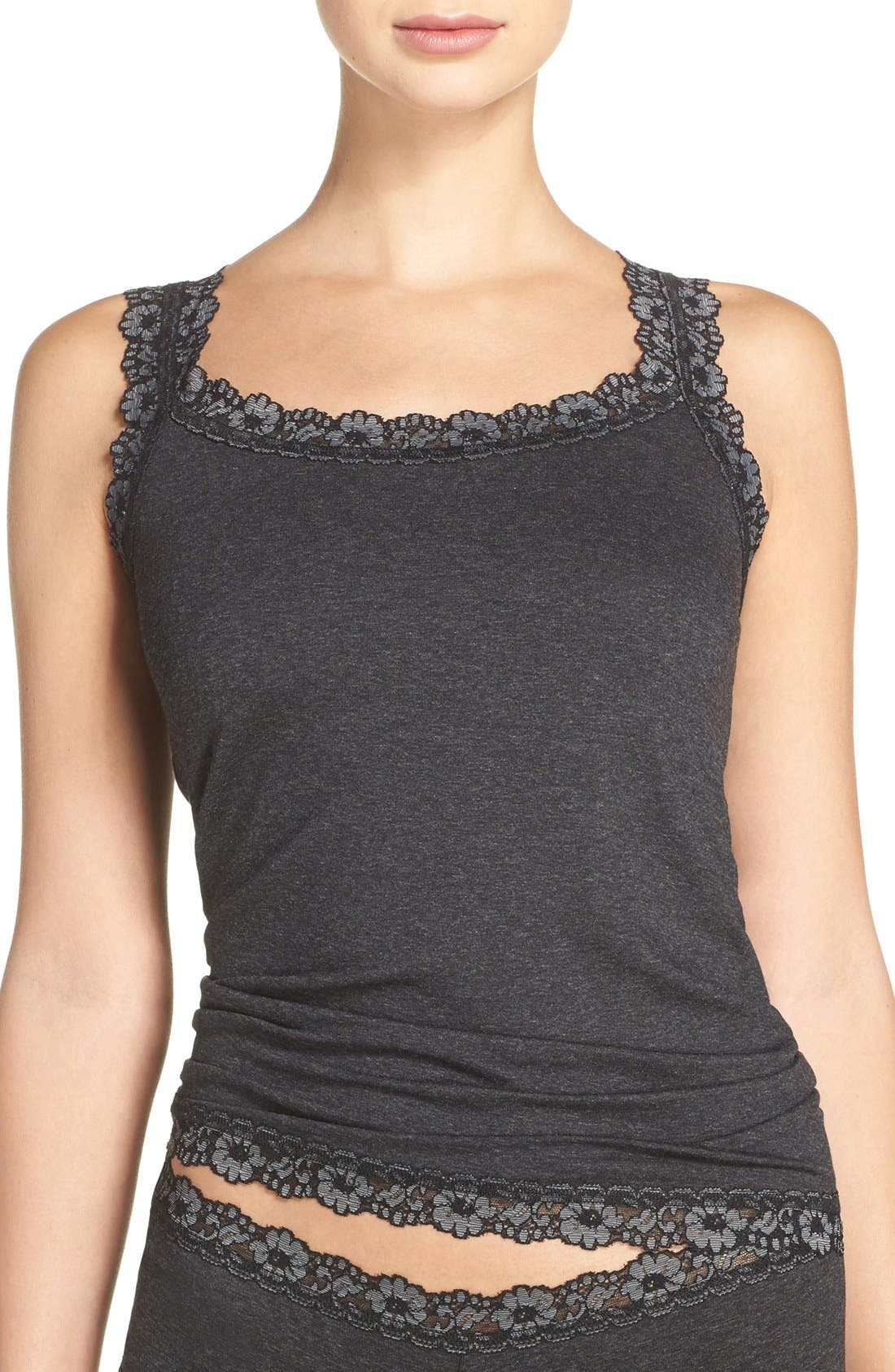 HANKY PANKY Classic Heather Jersey Camisole