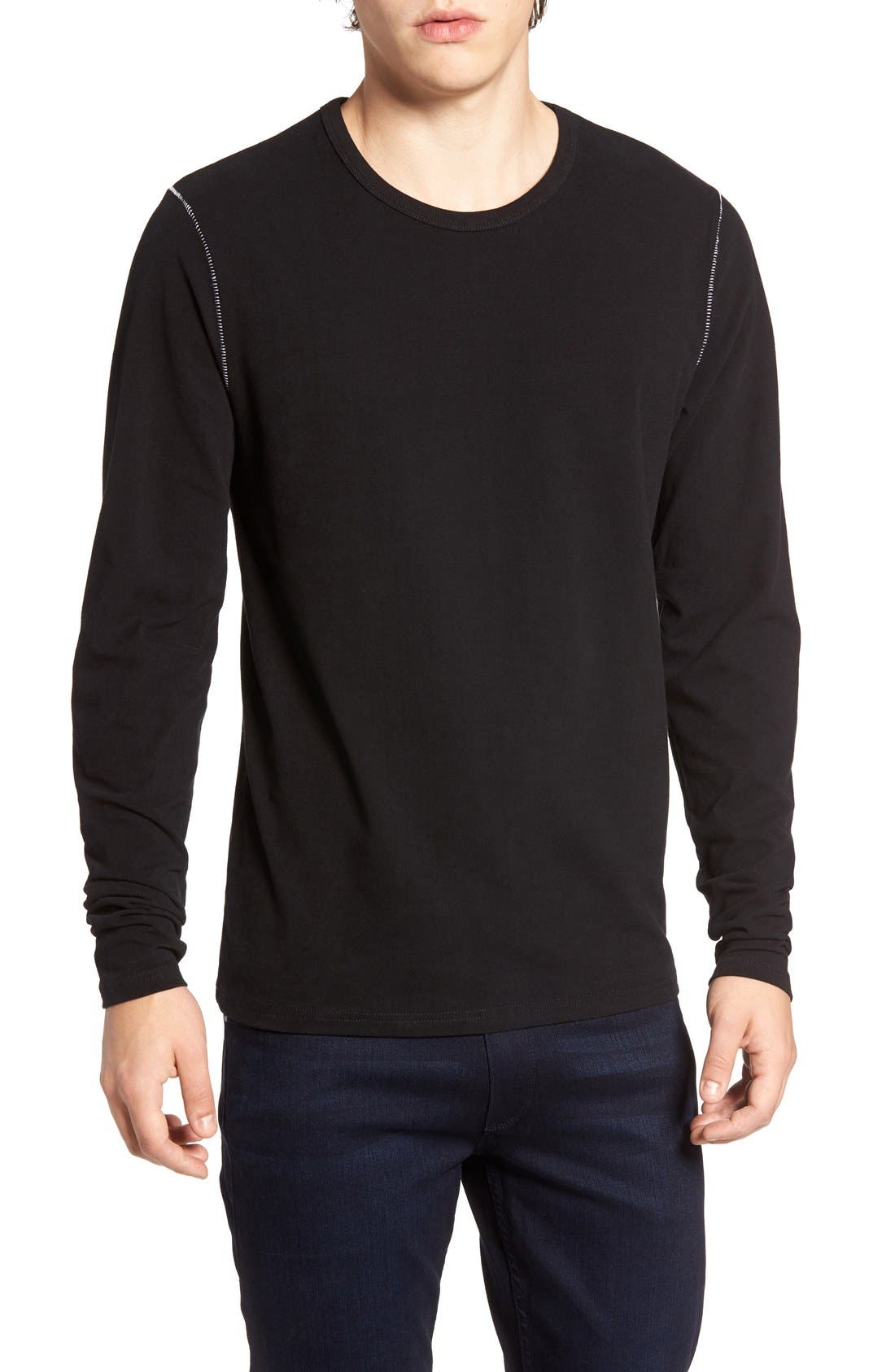 THREADS FOR THOUGHT Long Sleeve Crewneck T-Shirt