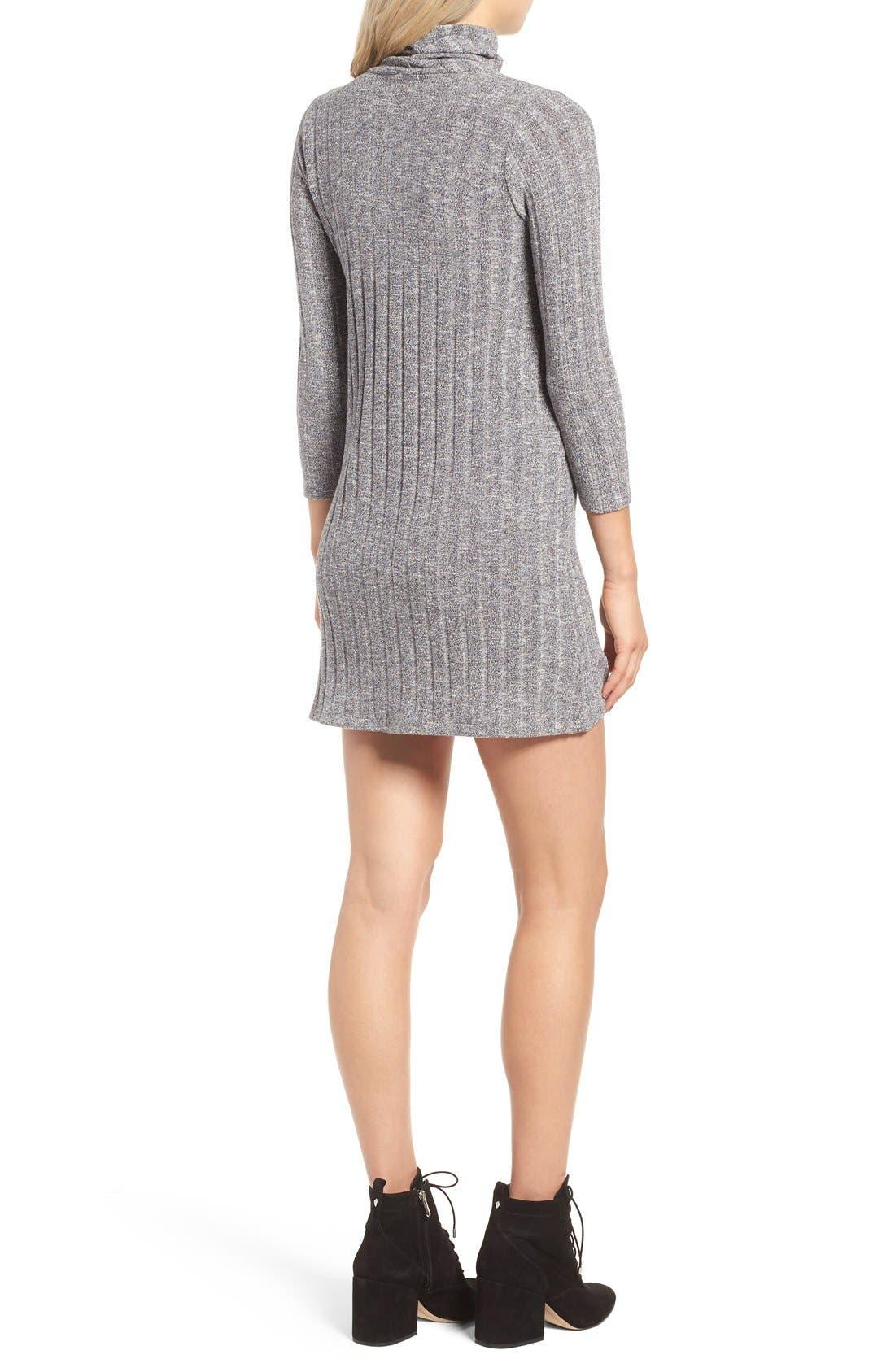 Alternate Image 2  - O'Neill 'Jovana' Mock Neck Shift Dress