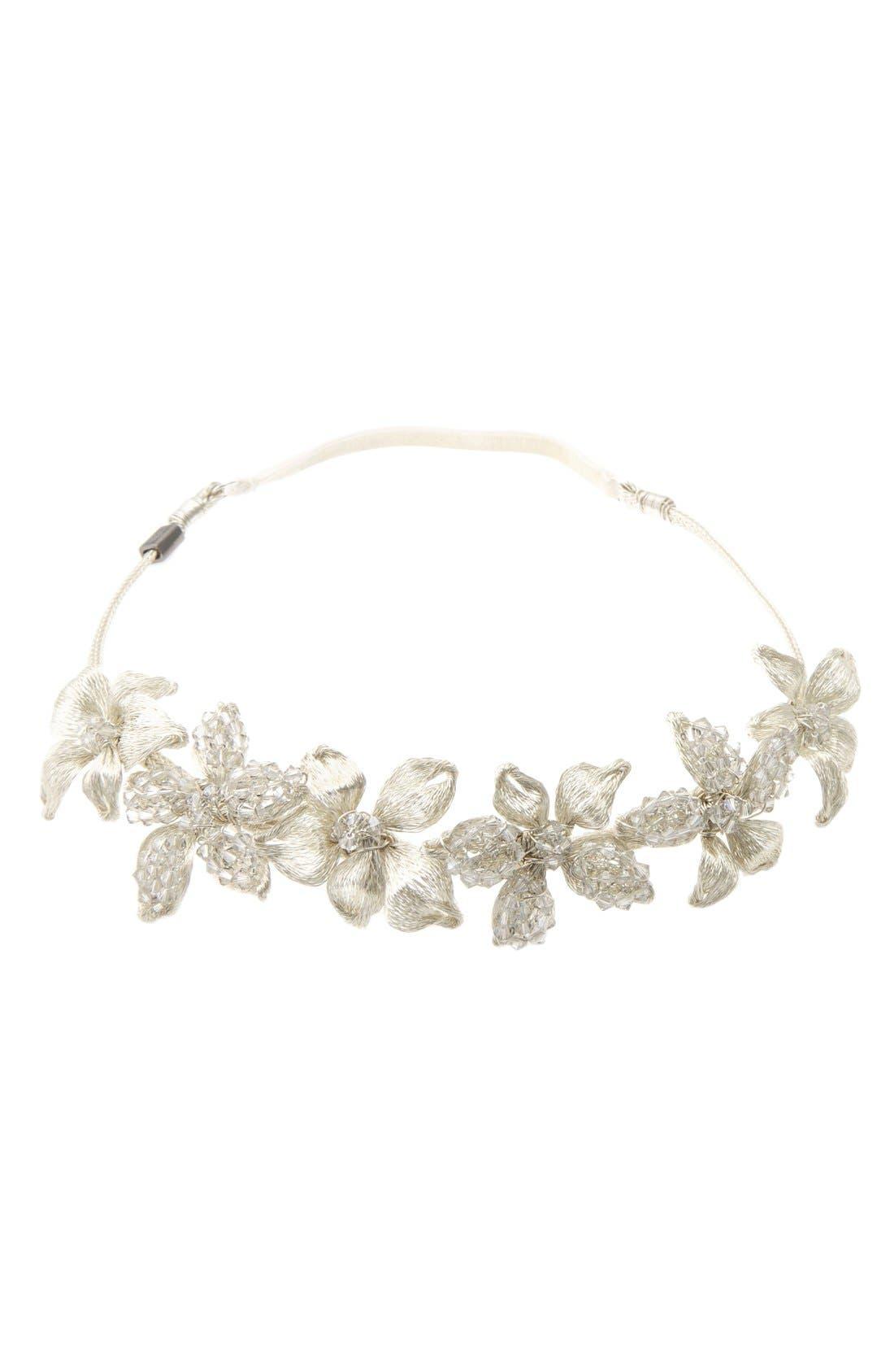 Main Image - Colette Malouf Mesh Flower Headband