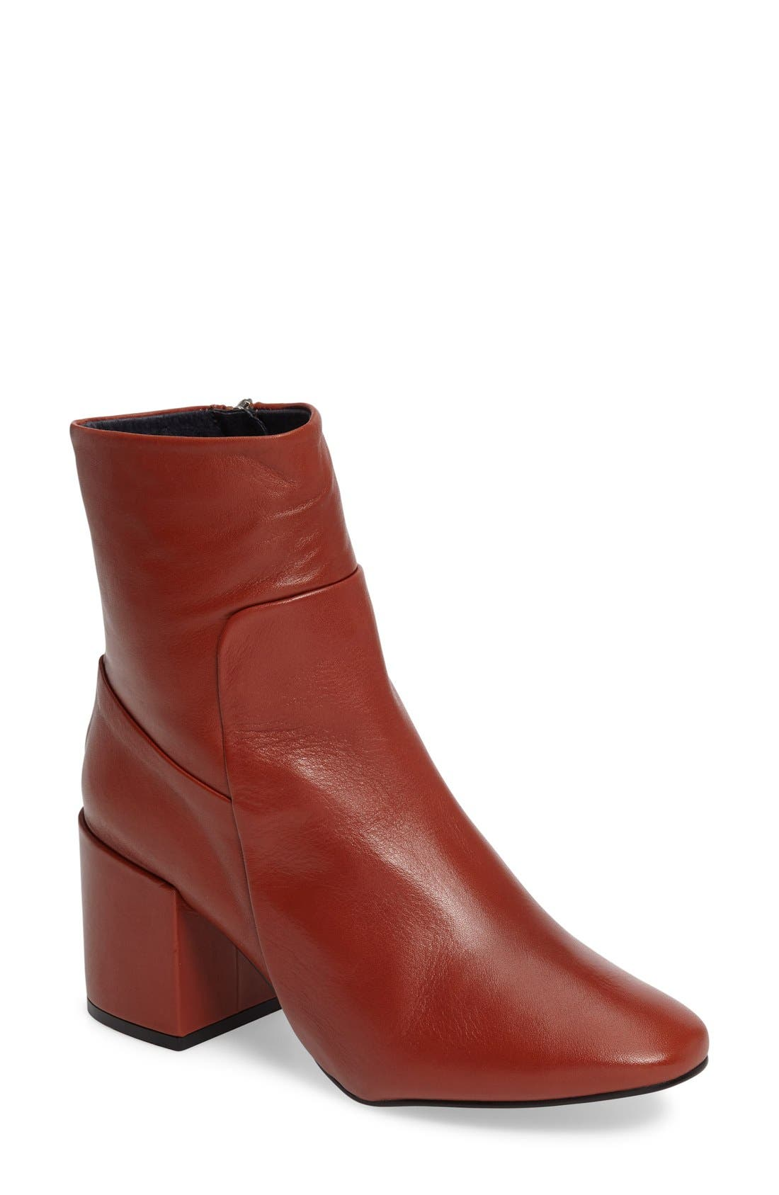 Main Image - Topshop Mint Pointy Toe Bootie (Women)
