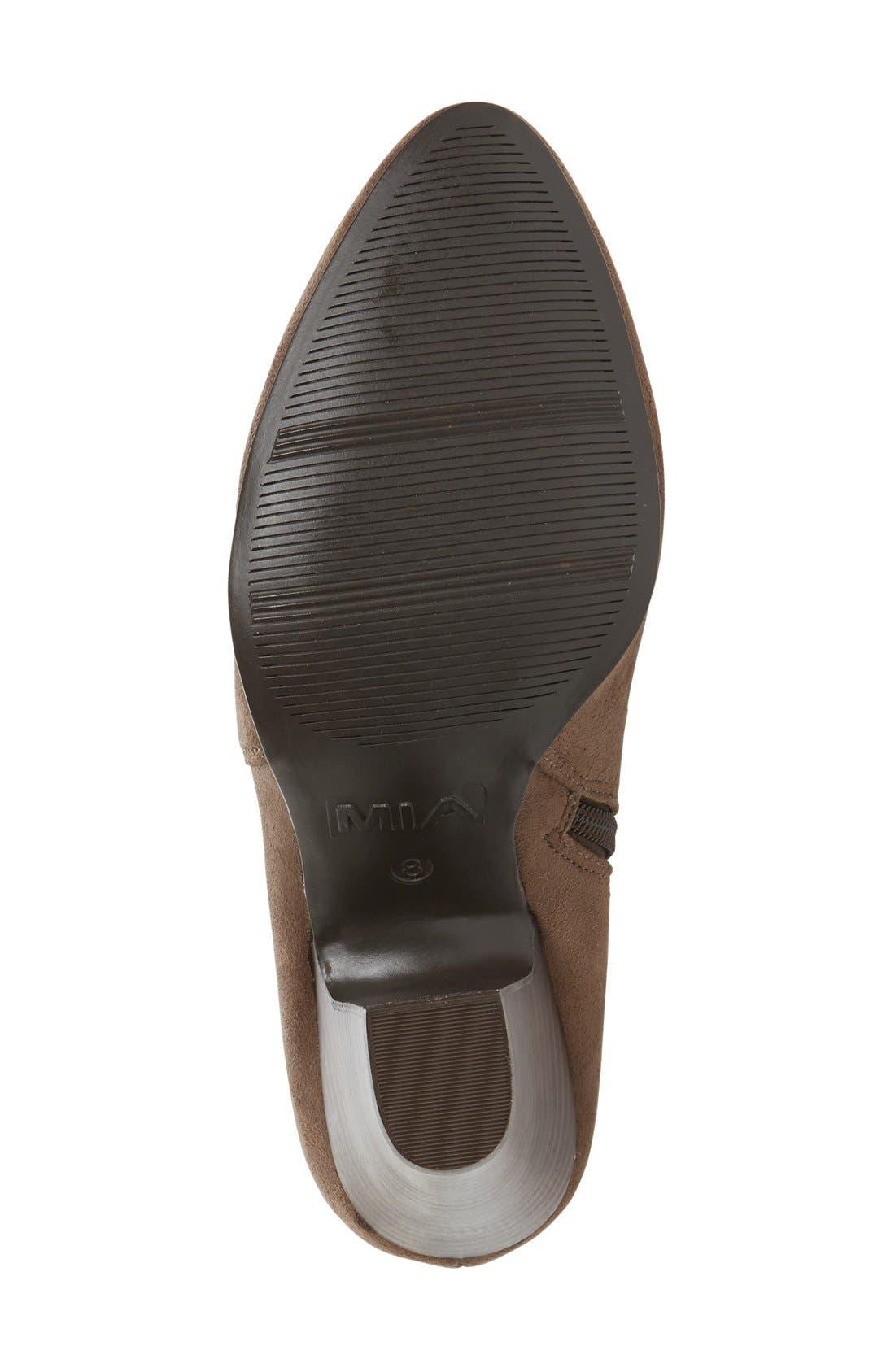 Alternate Image 4  - MIA Emelia Thigh High Boot (Women)