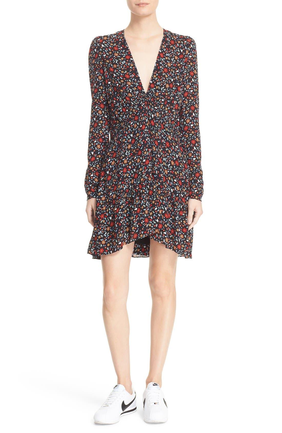 A.L.C. Renata Floral Print Dress