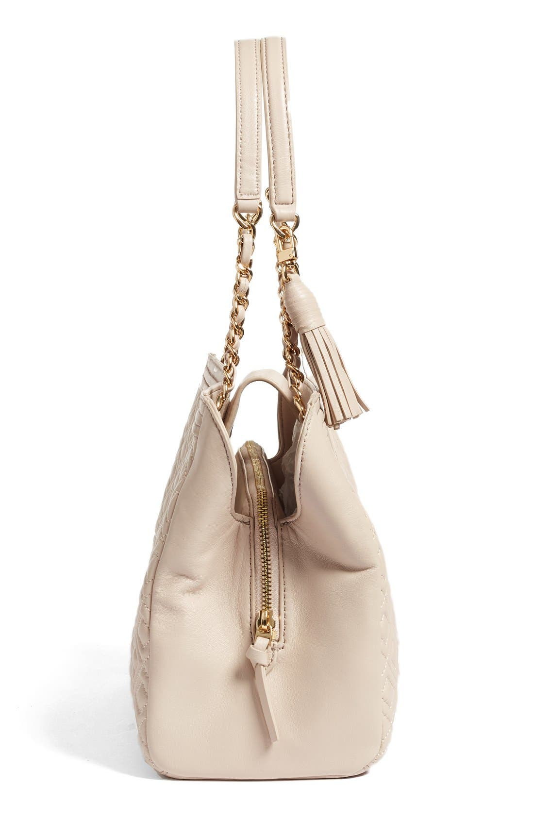 Alternate Image 5  - Tory Burch Fleming Leather Shoulder Bag