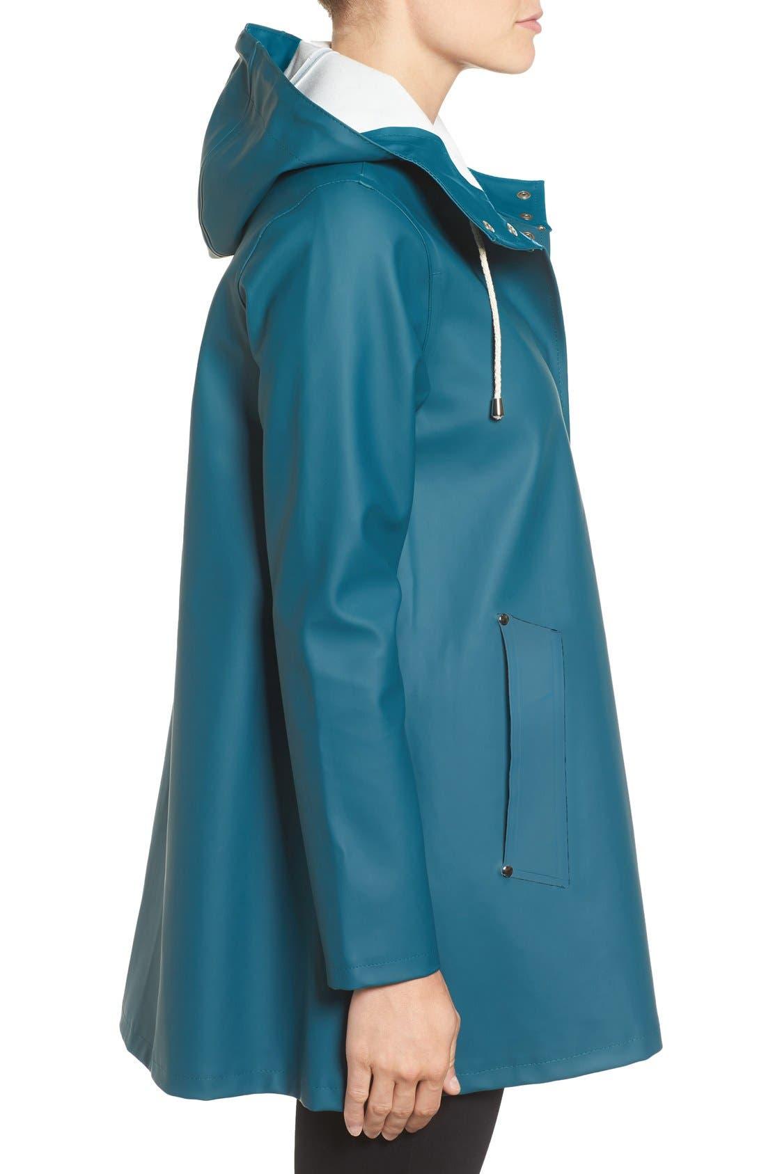 Alternate Image 3  - Stutterheim Mosebacke Waterproof A-Line Raincoat