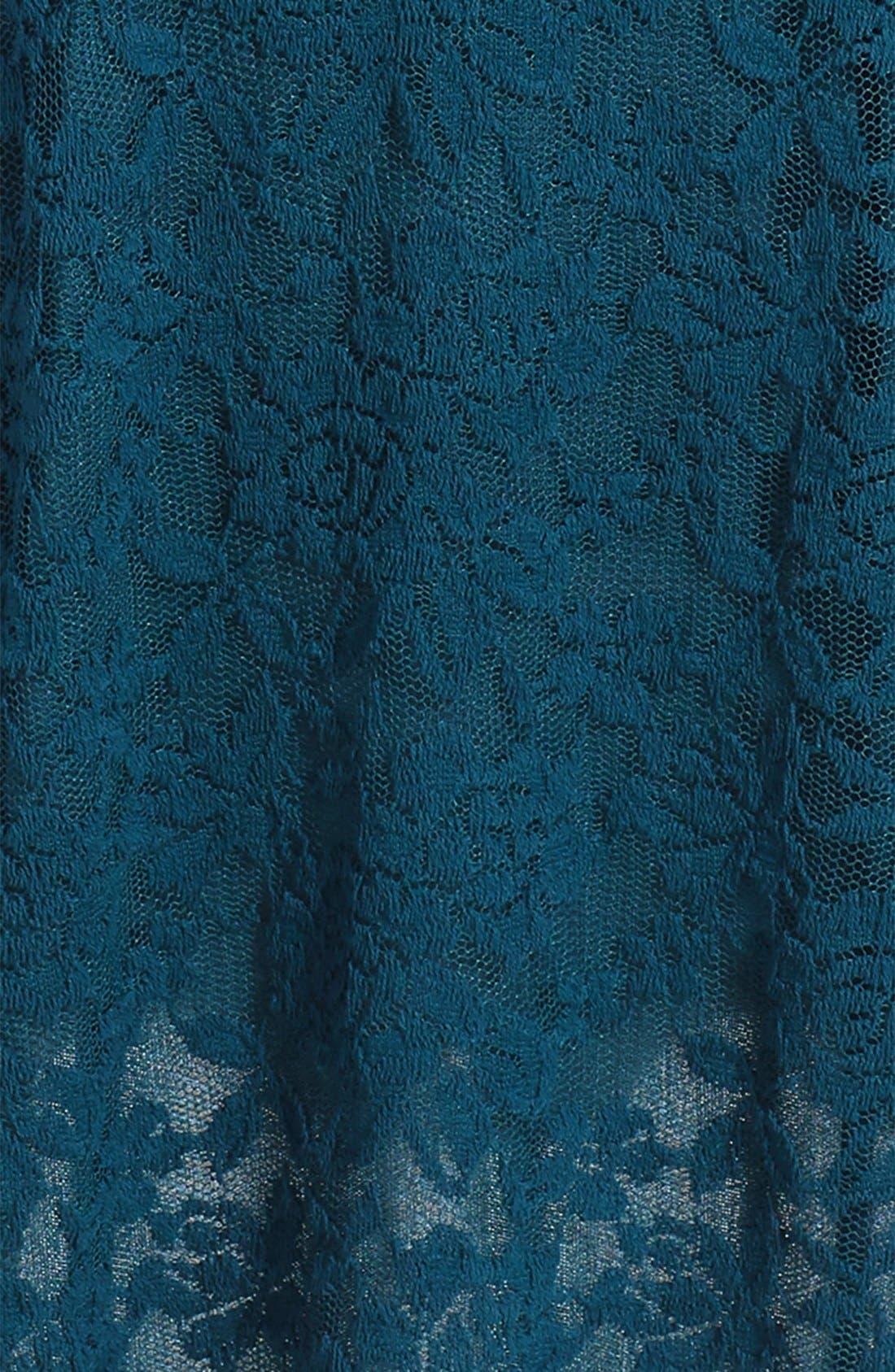 Alternate Image 3  - Ruby & Bloom 'Jessamine' Lace Dress (Little Girls & Big Girls)