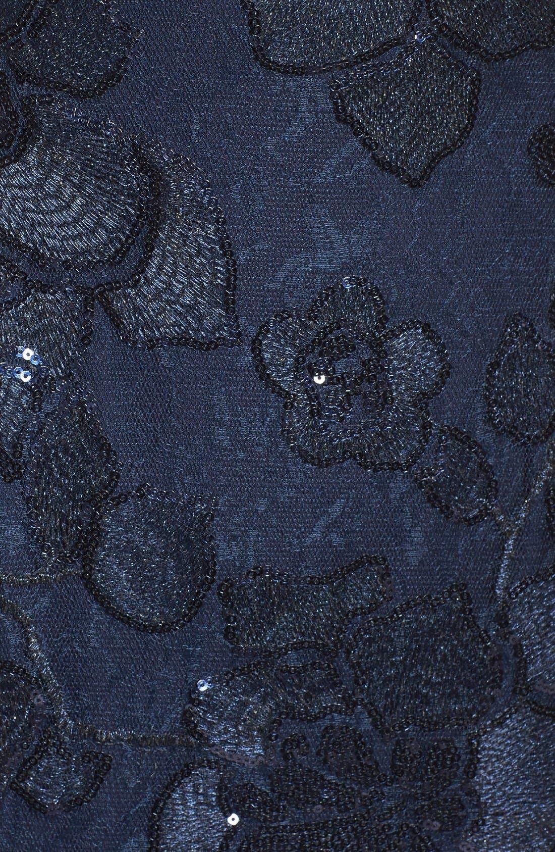 Alternate Image 6  - Adrianna Papell Embellished Lace Sheath Dress