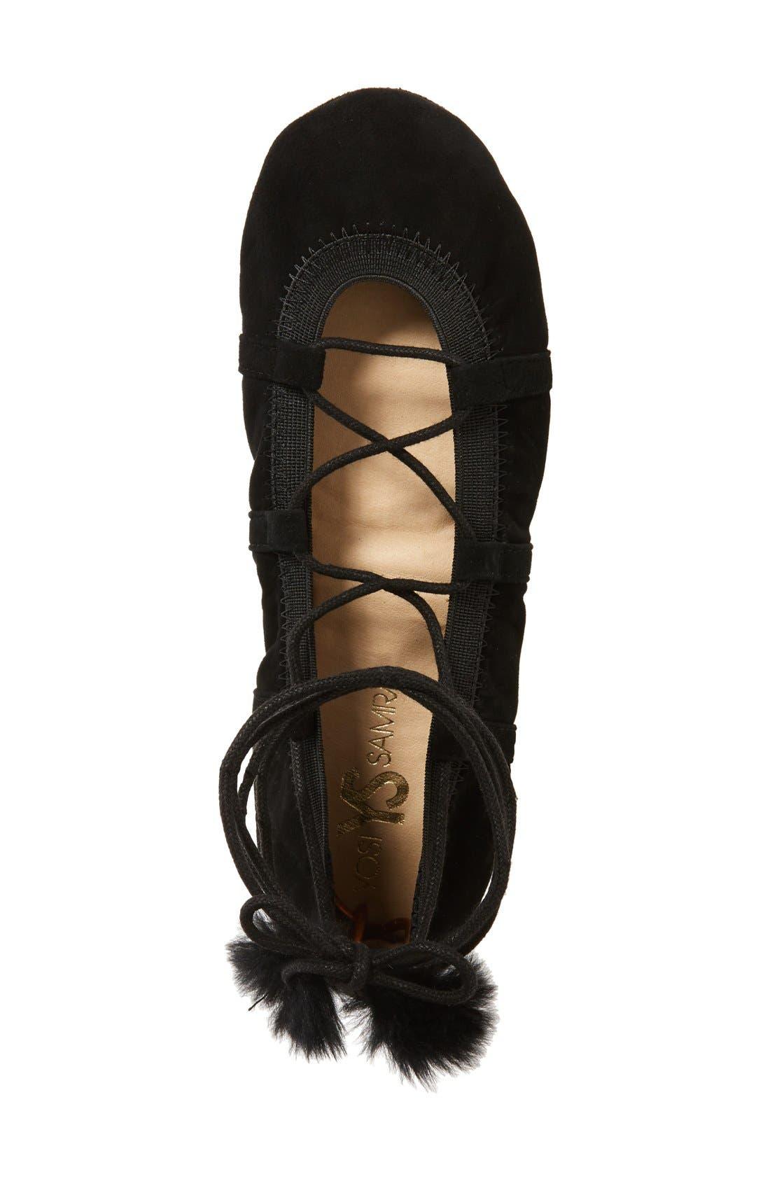 Alternate Image 3  - Yosi Samra Seleste Foldable Ballet Flat (Women)
