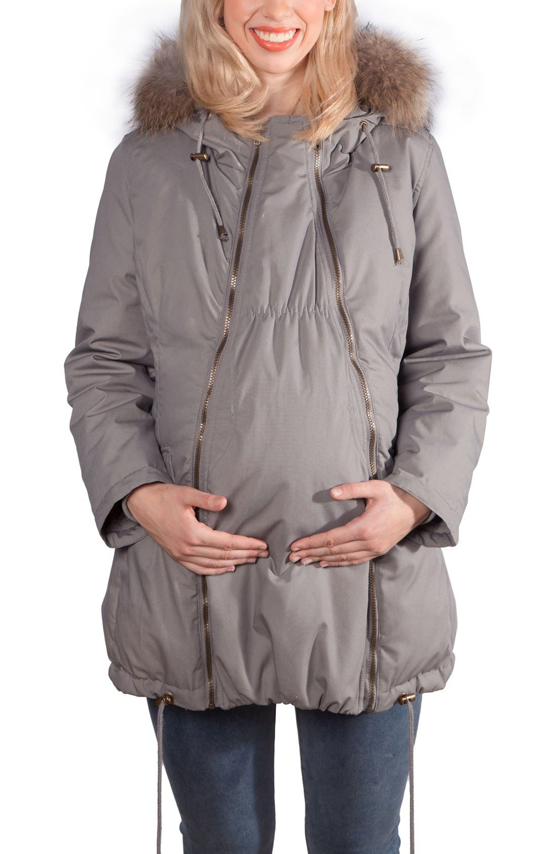 Modern Eternity Convertible Down Maternity Jacket