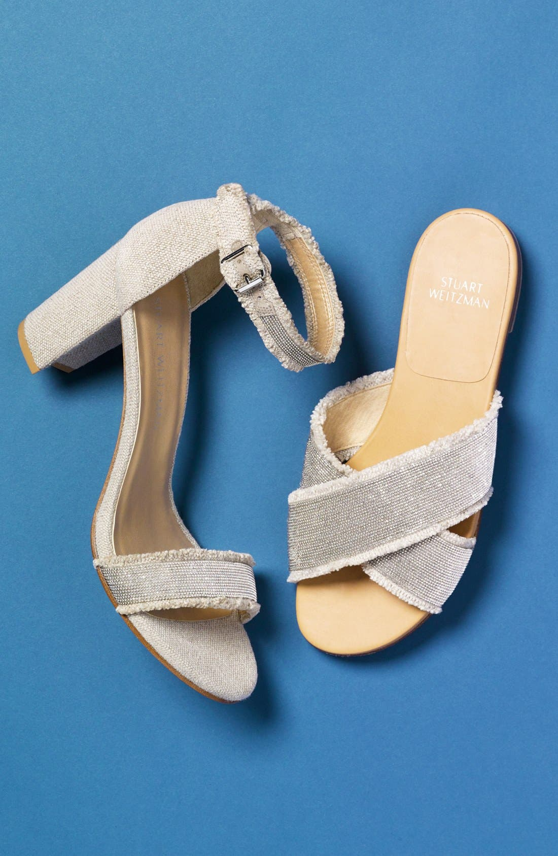 Alternate Image 5  - Stuart Weitzman 'Chaingang' Ankle Strap Sandal (Women)