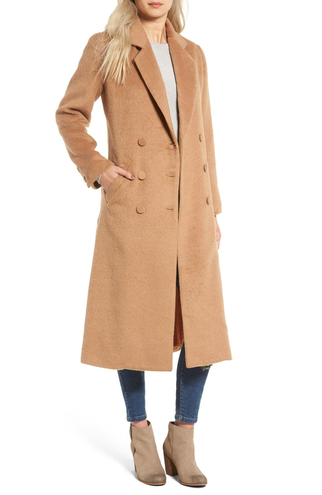 Alternate Image 1 Selected - Somedays Lovin Take Me In Trench Coat
