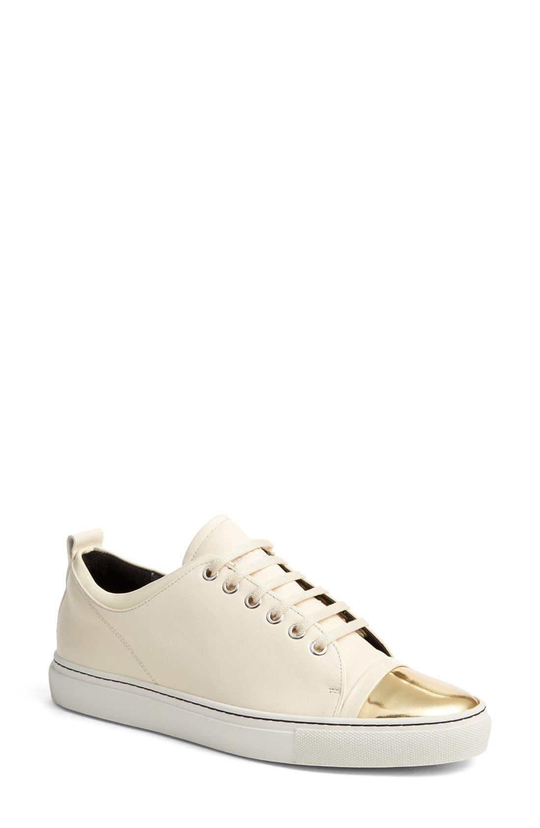 Alternate Image 1 Selected - Lanvin Cap Toe Sneaker (Women)