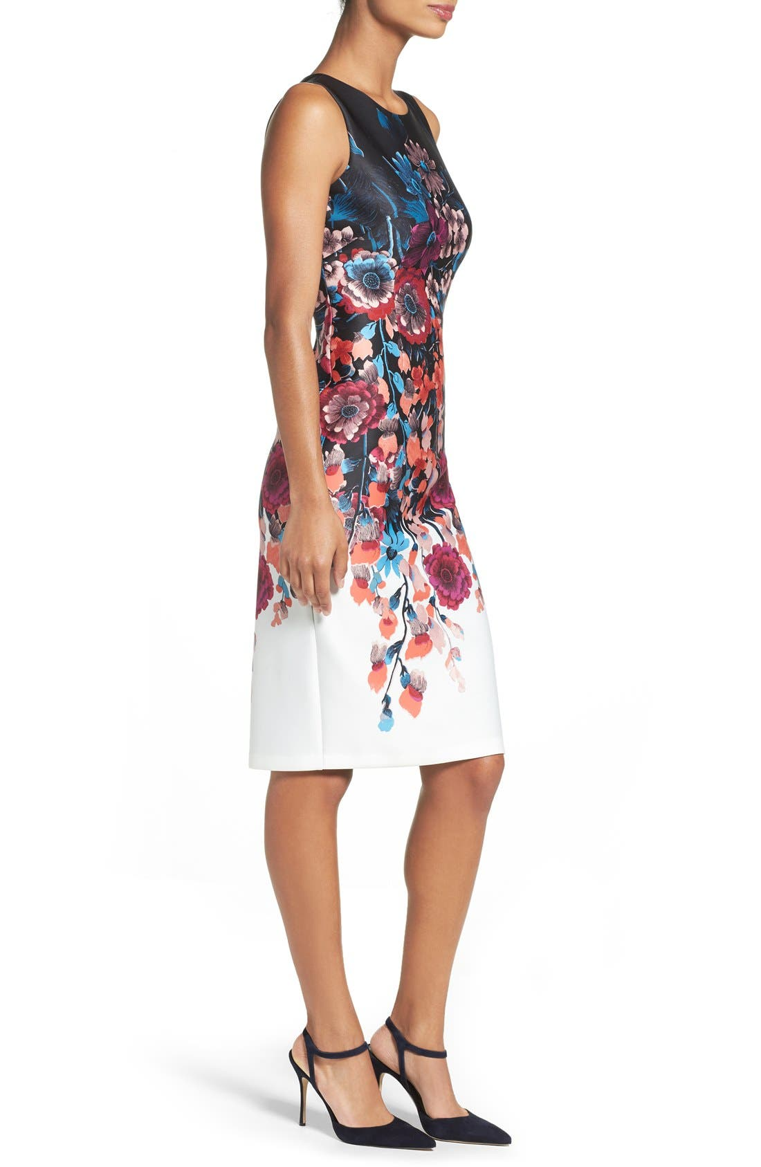 Alternate Image 3  - Adrianna Papell Scuba Midi Dress