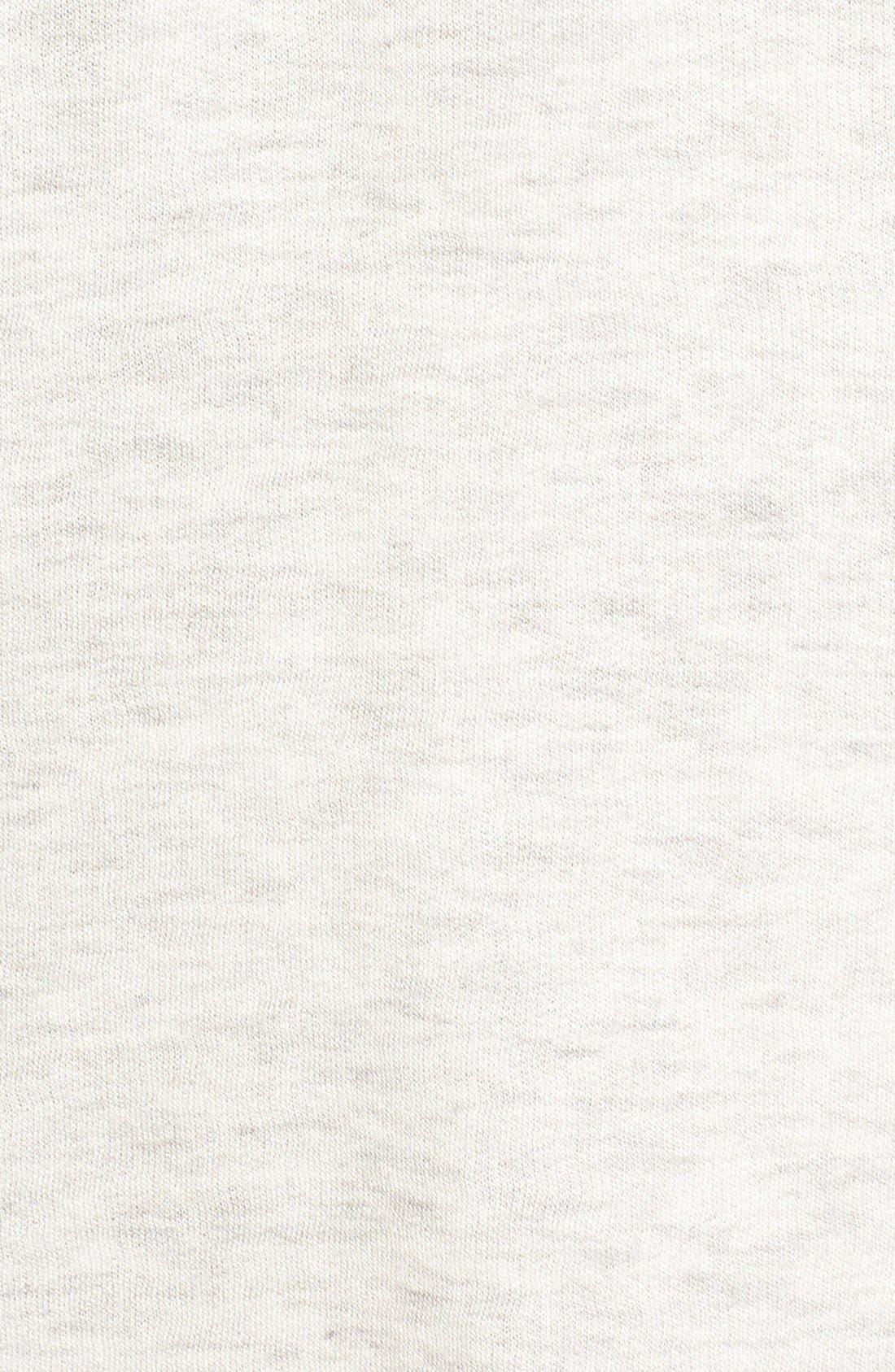 Alternate Image 6  - Socialite Lace-Up Sweatshirt