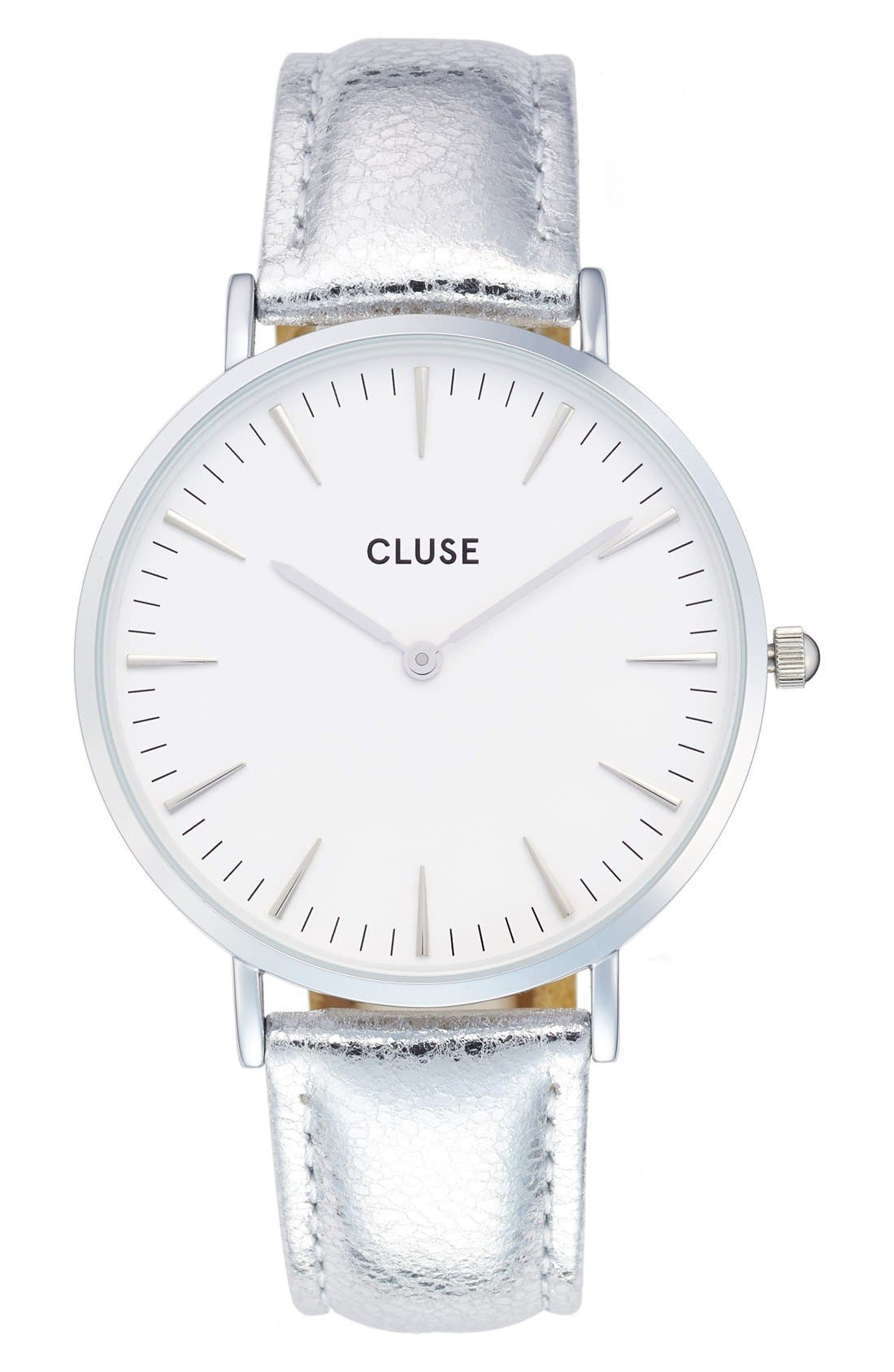 CLUSE La Boheme Metallic Strap Watch, 38mm