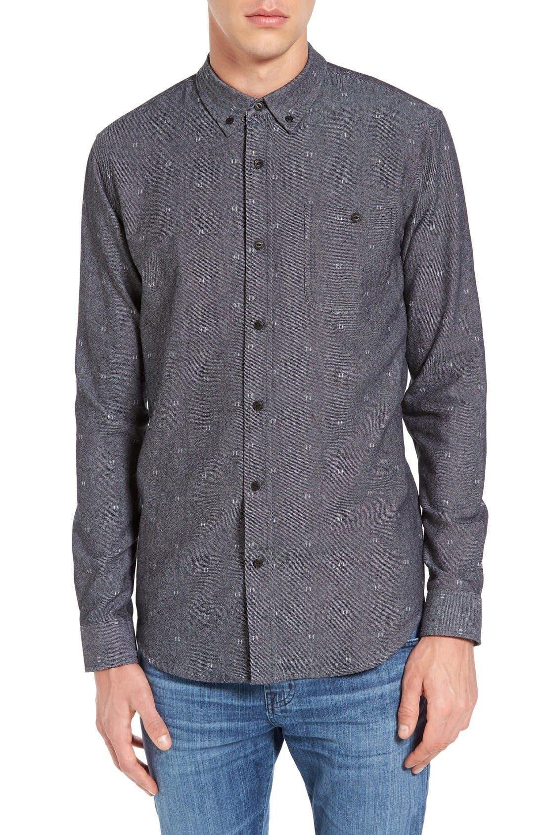 Ezekiel Depp Slim Fit Print Woven Shirt