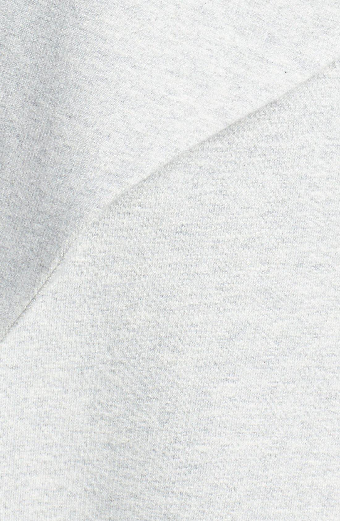 Alternate Image 5  - Pleione Reverse Knit Terry Jacket