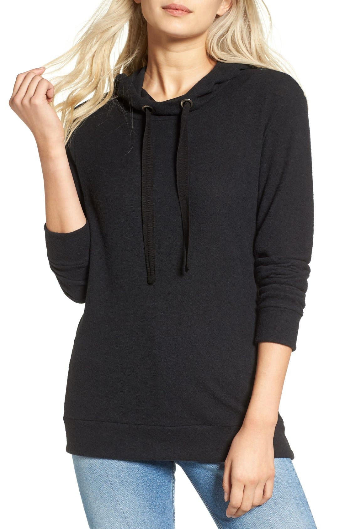 Main Image - BP. Fleece Tunic Hoodie