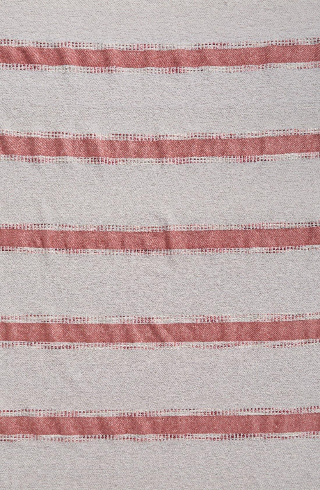 Alternate Image 3  - Nordstrom at Home Brushed Stripe Throw
