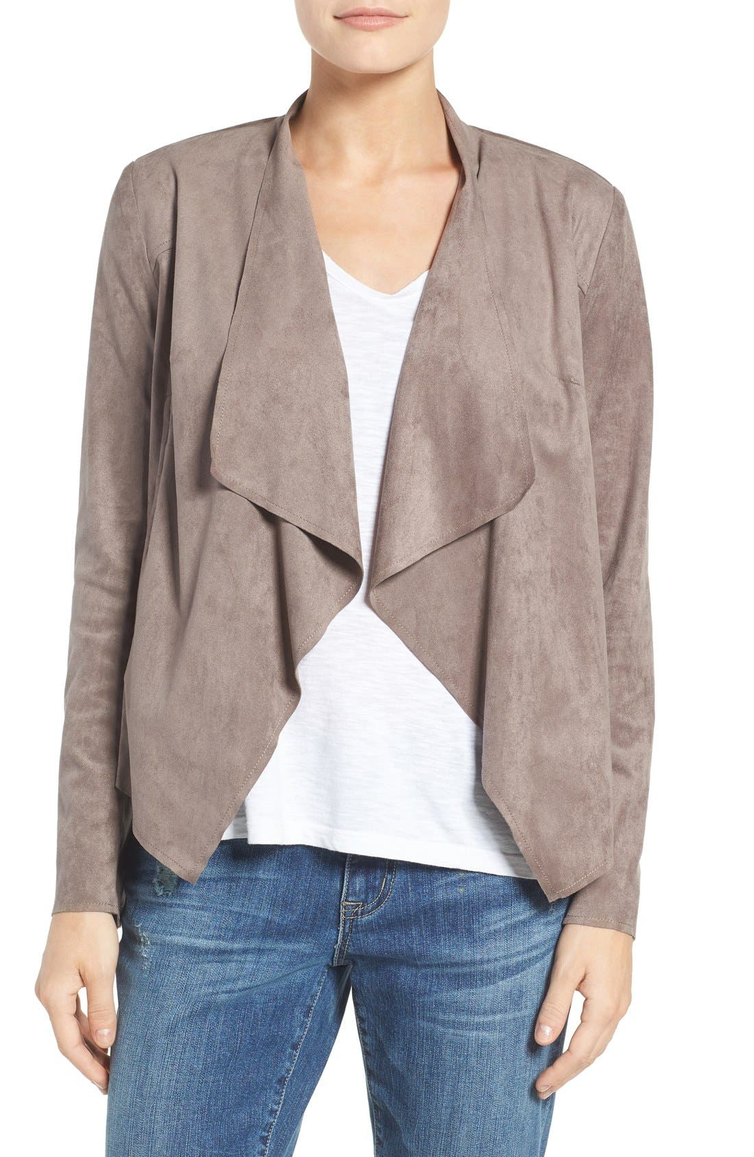 KUT from the Kloth Tayanita Faux Suede Jacket (Regular & Petite)