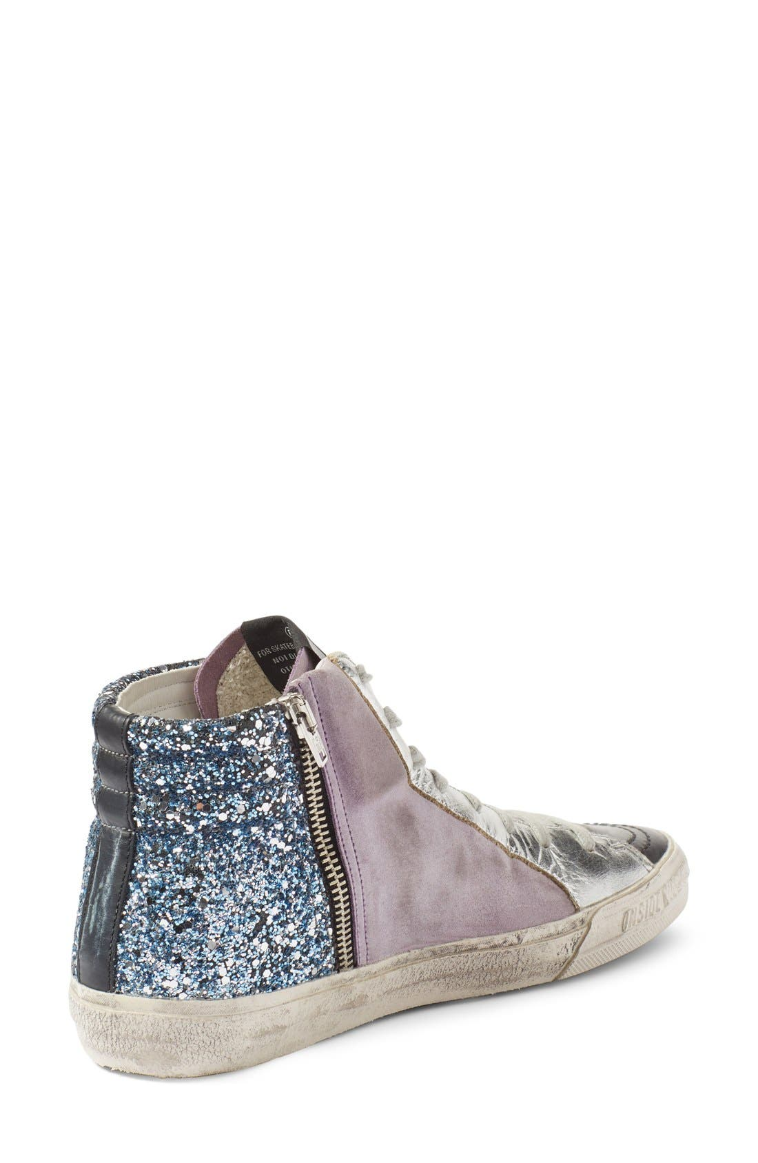 Alternate Image 2  - Golden Goose 'Slide' High Top Sneaker (Women)