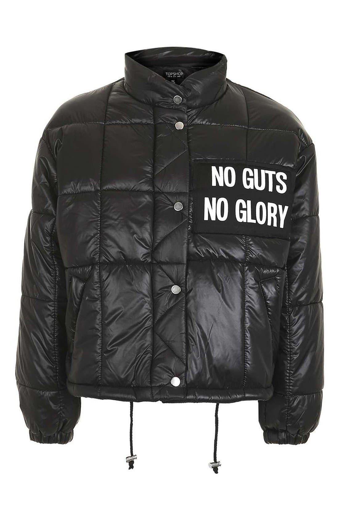 Alternate Image 4  - Topshop Nina Puffer Jacket