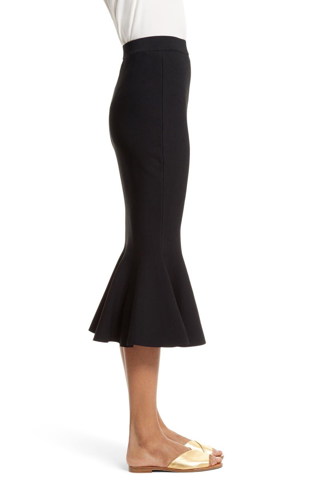 Alternate Image 3  - Milly Mermaid Hem Midi Skirt