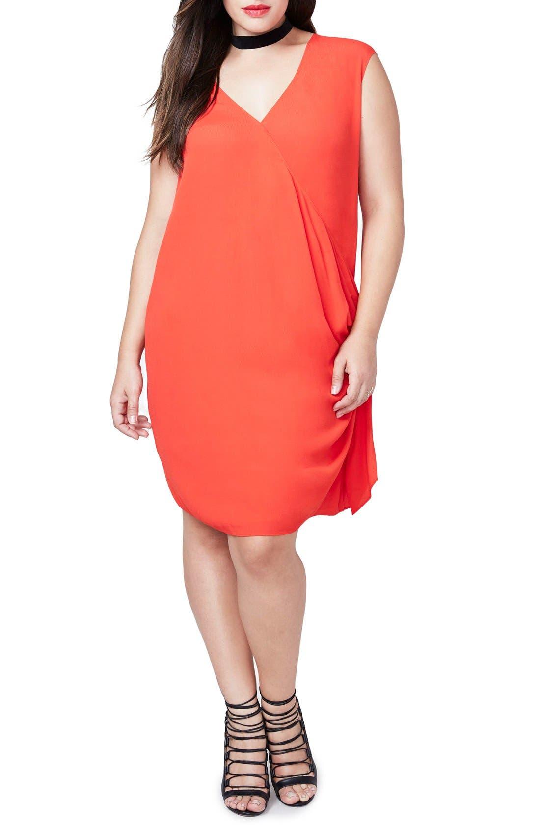 RACHEL Rachel Roy Side Tie Dress (Plus Size)